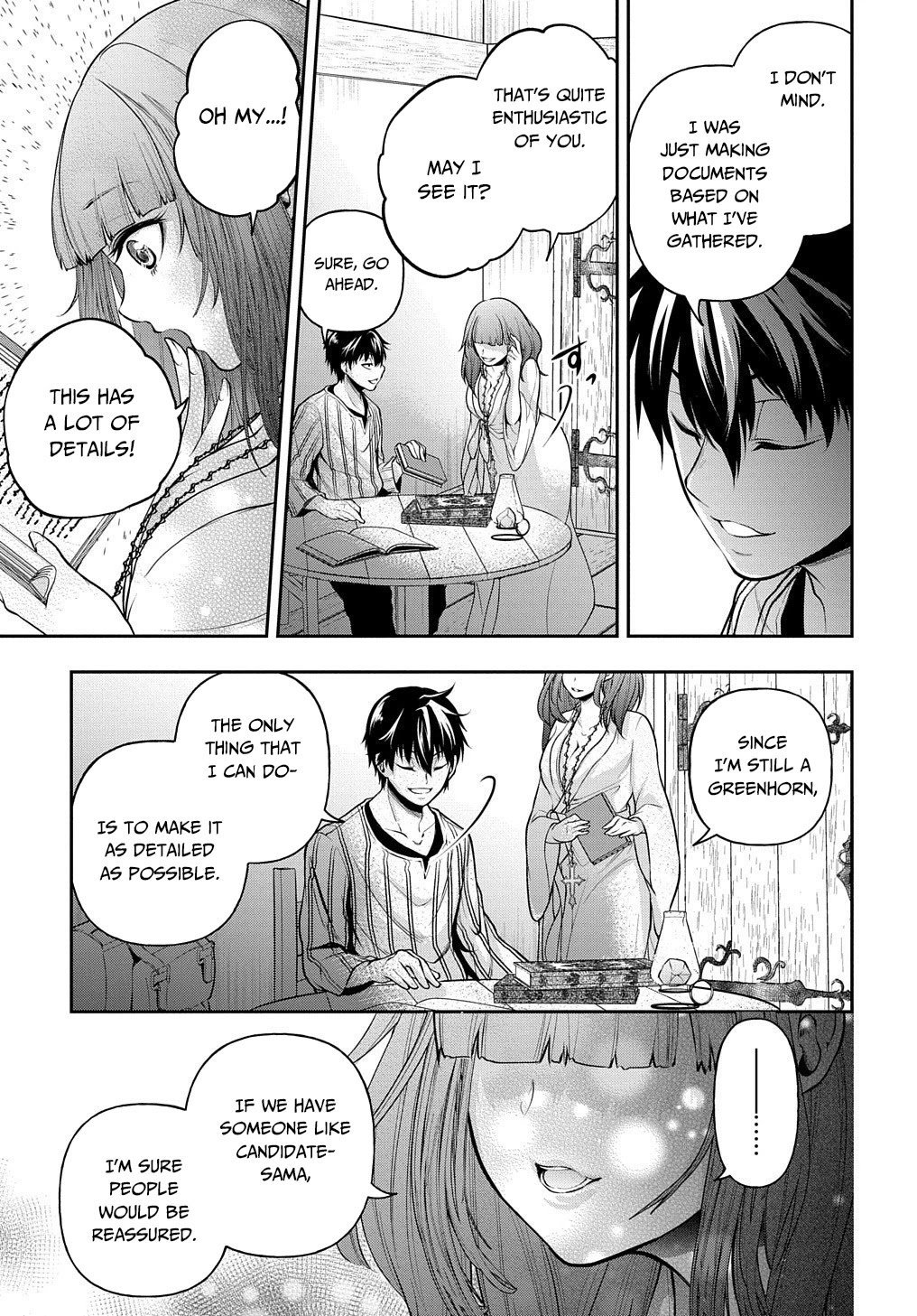 Manga It's Sudden, but I came to Another World! But I hope to live Safely - Chapter 16 Page 18