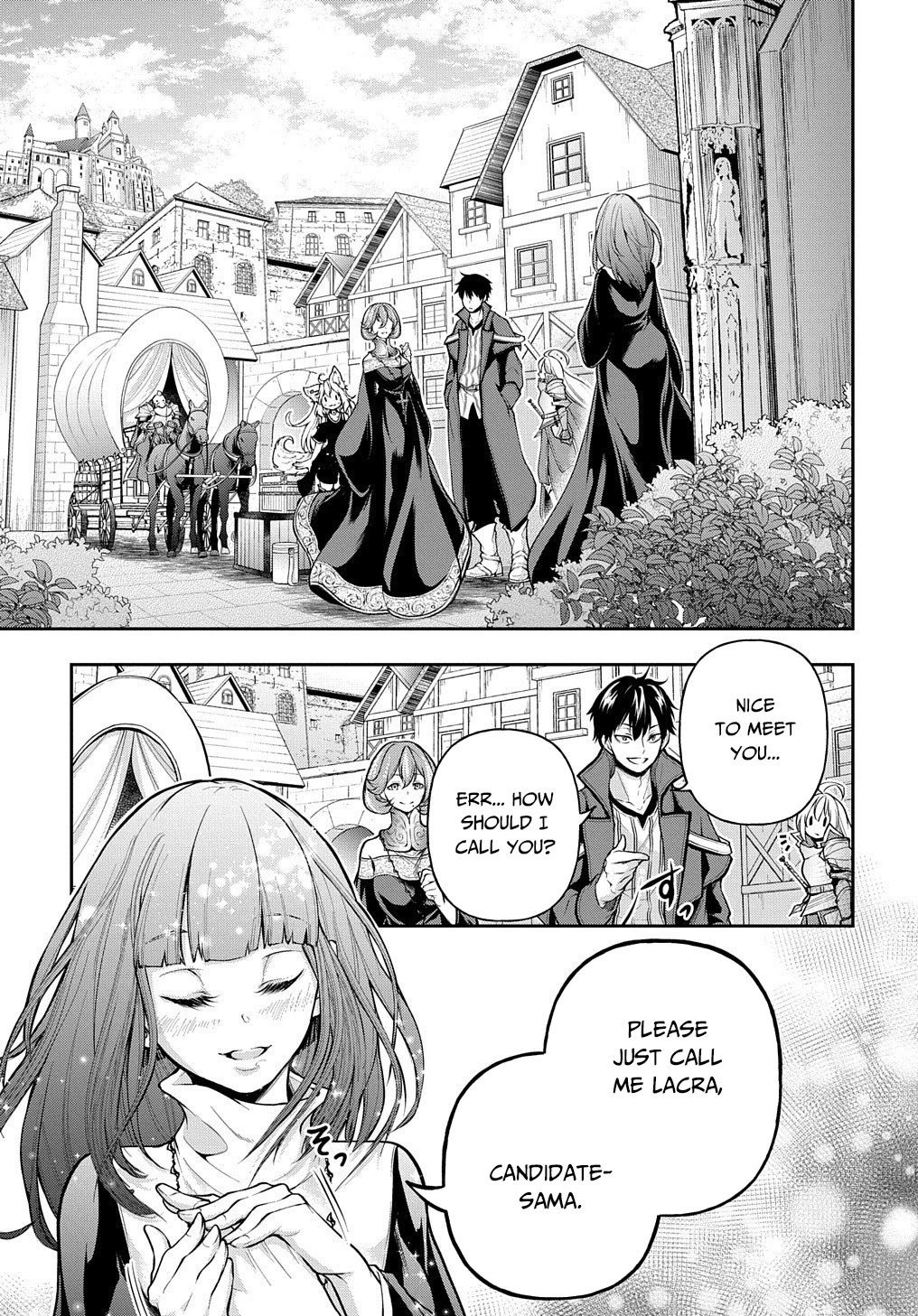 Manga It's Sudden, but I came to Another World! But I hope to live Safely - Chapter 16 Page 2