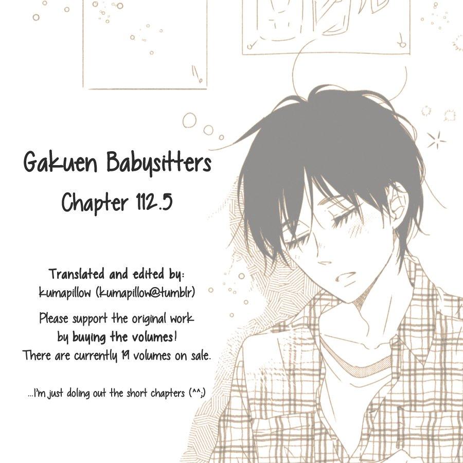 Manga Gakuen Babysitters - Chapter 112.5 Page 1
