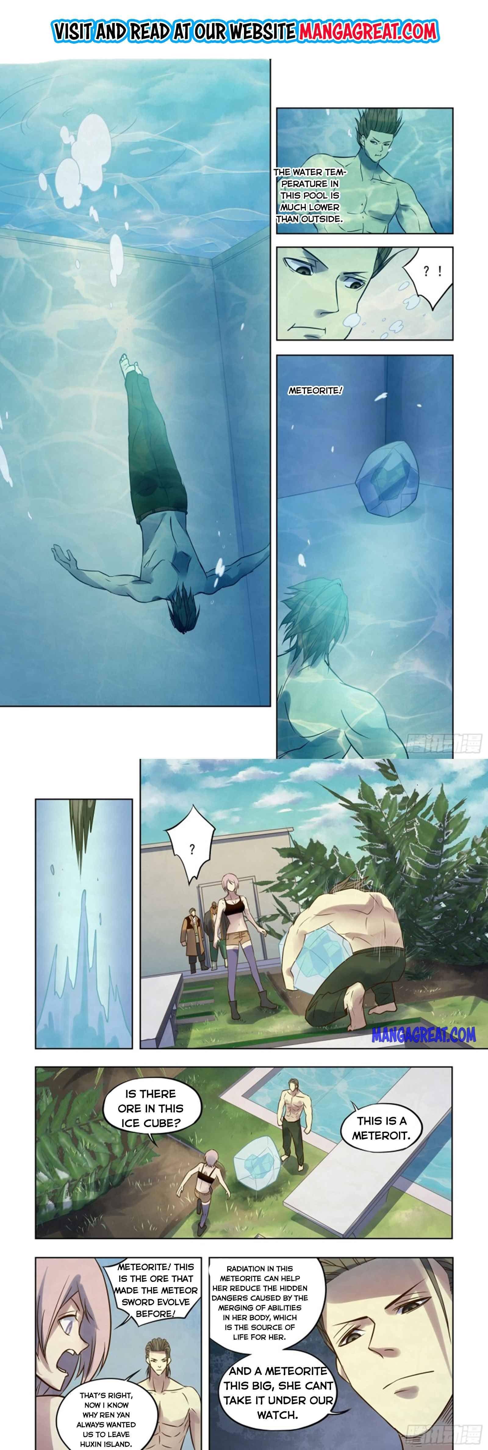 Manga The Last Human - Chapter 350 Page 1