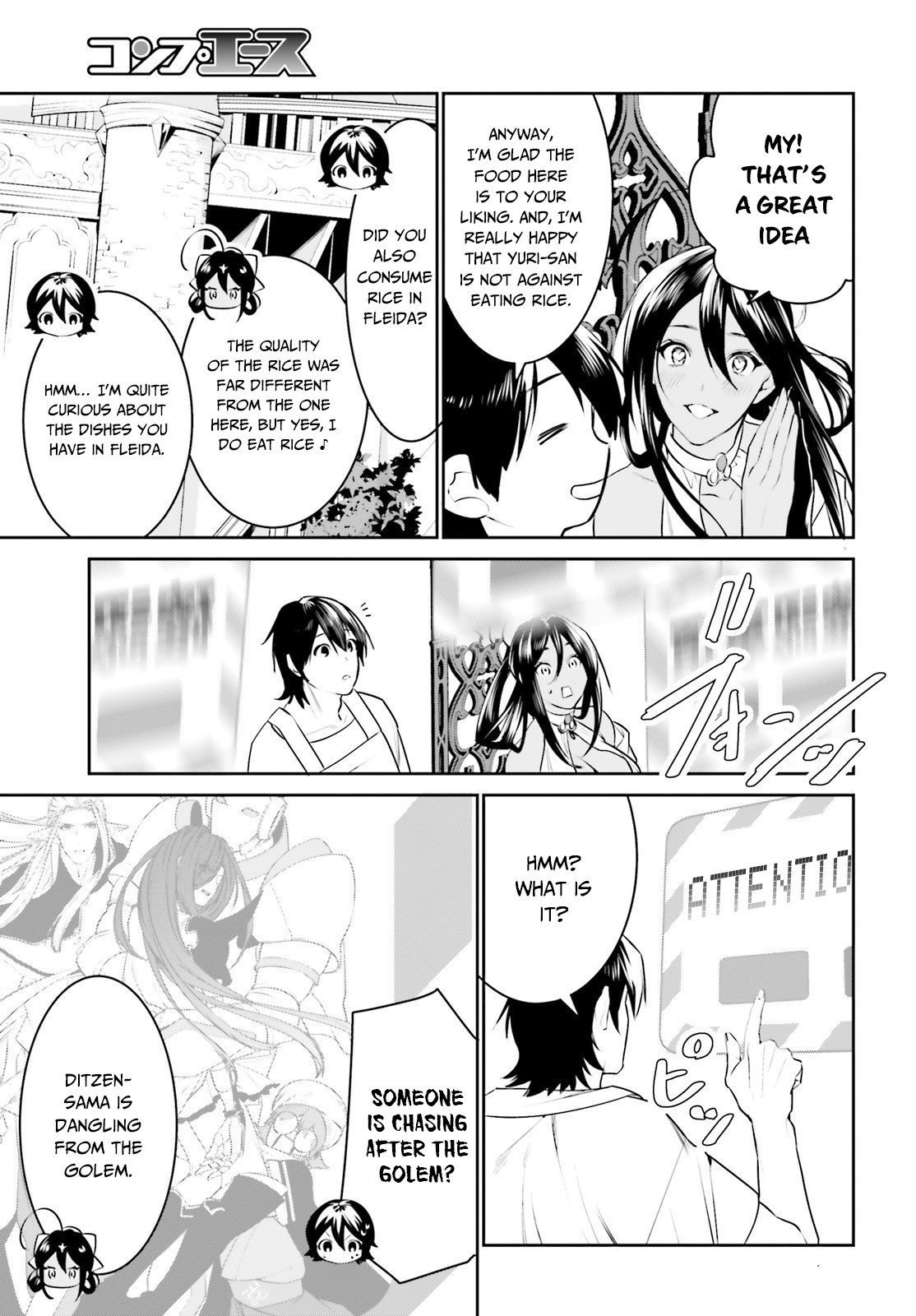 Manga I Want To Play Happily Because I Got The Heavenly Castle - Chapter 15 Page 28