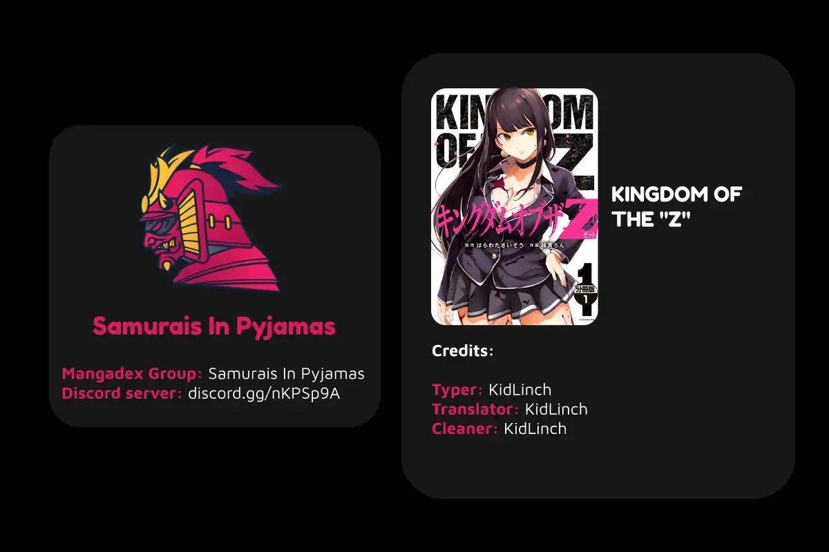 "Manga KINGDOM OF ""Z"" - Chapter 9.5 Page 1"