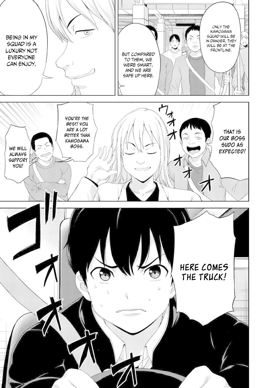 "Manga KINGDOM OF ""Z"" - Chapter 11 Page 8"