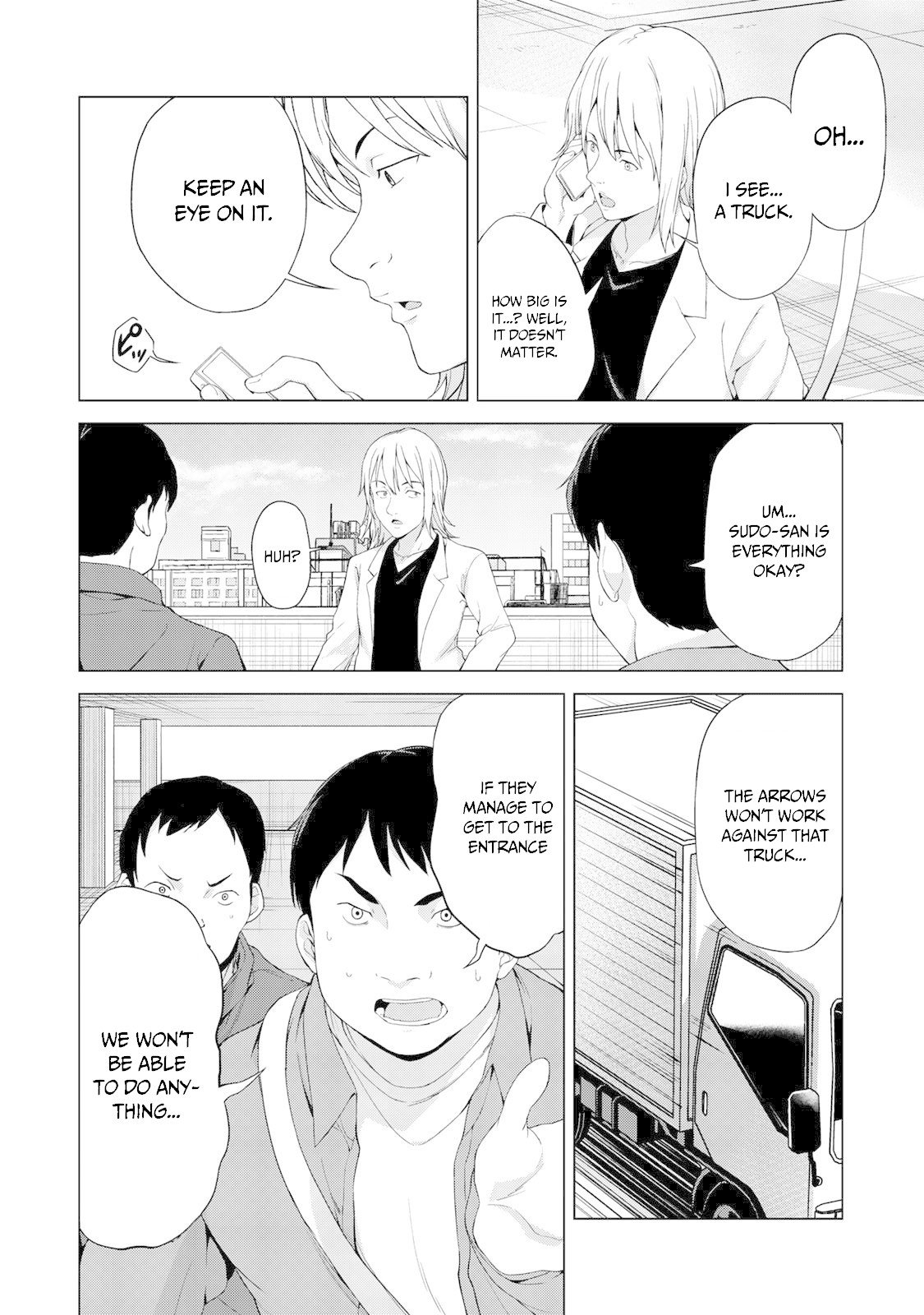 "Manga KINGDOM OF ""Z"" - Chapter 11 Page 5"