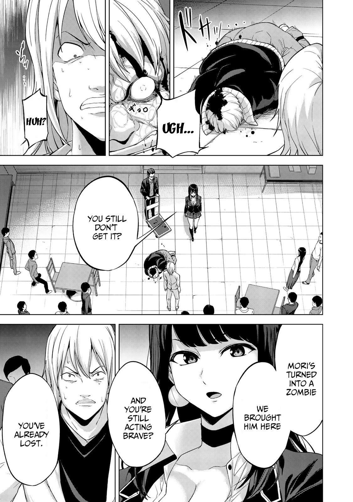 "Manga KINGDOM OF ""Z"" - Chapter 15 Page 4"