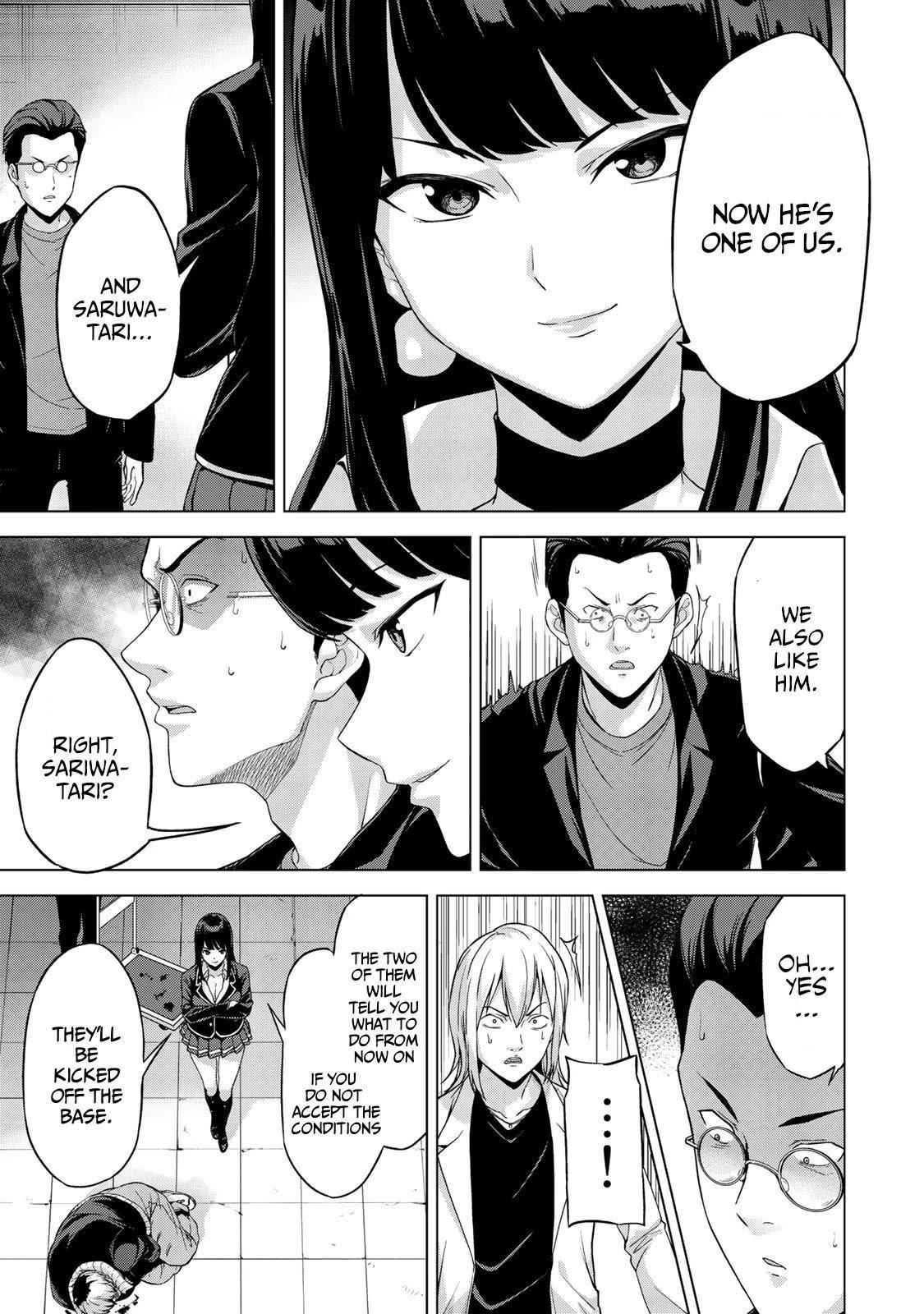 "Manga KINGDOM OF ""Z"" - Chapter 15 Page 12"