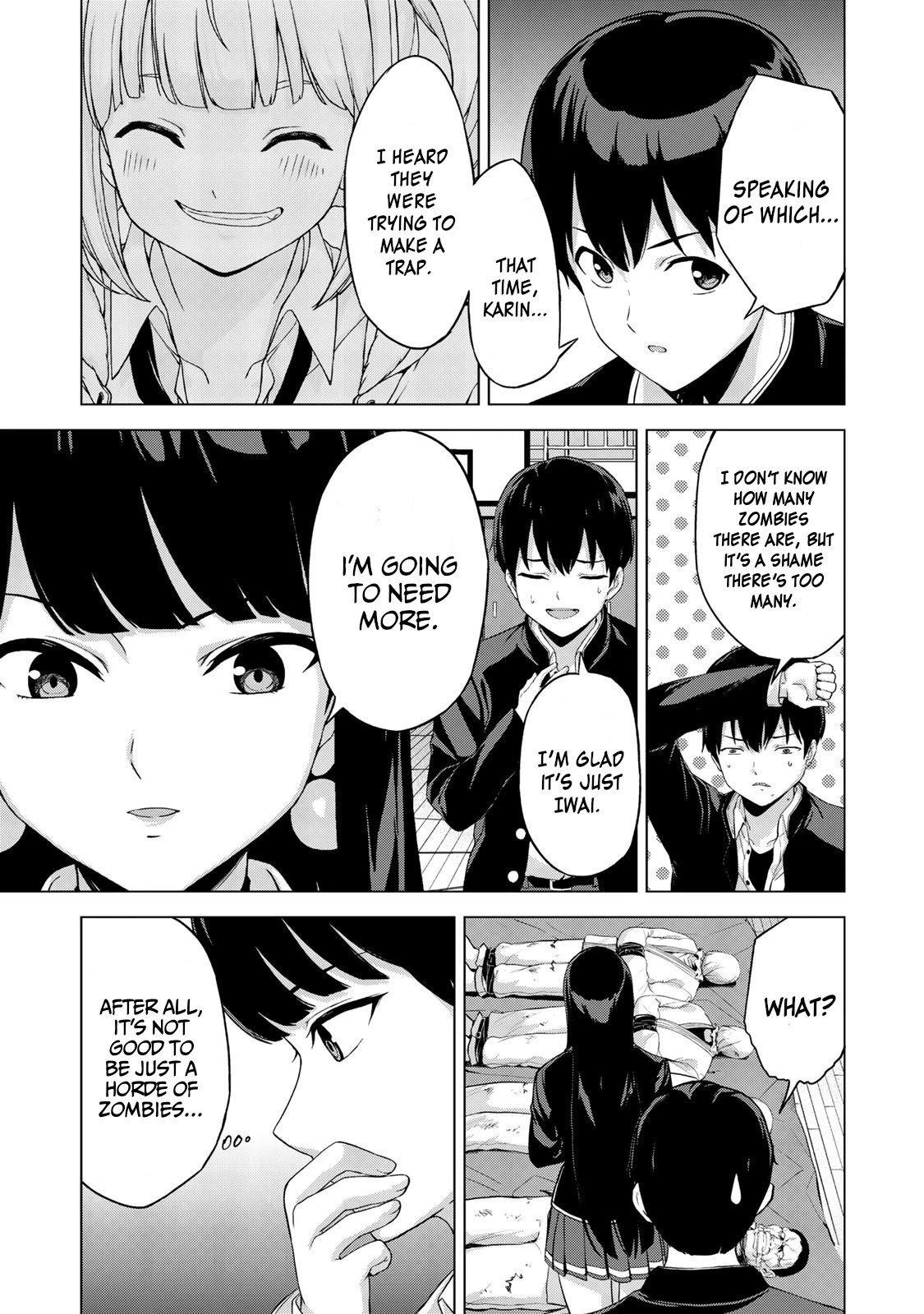 "Manga KINGDOM OF ""Z"" - Chapter 16 Page 10"