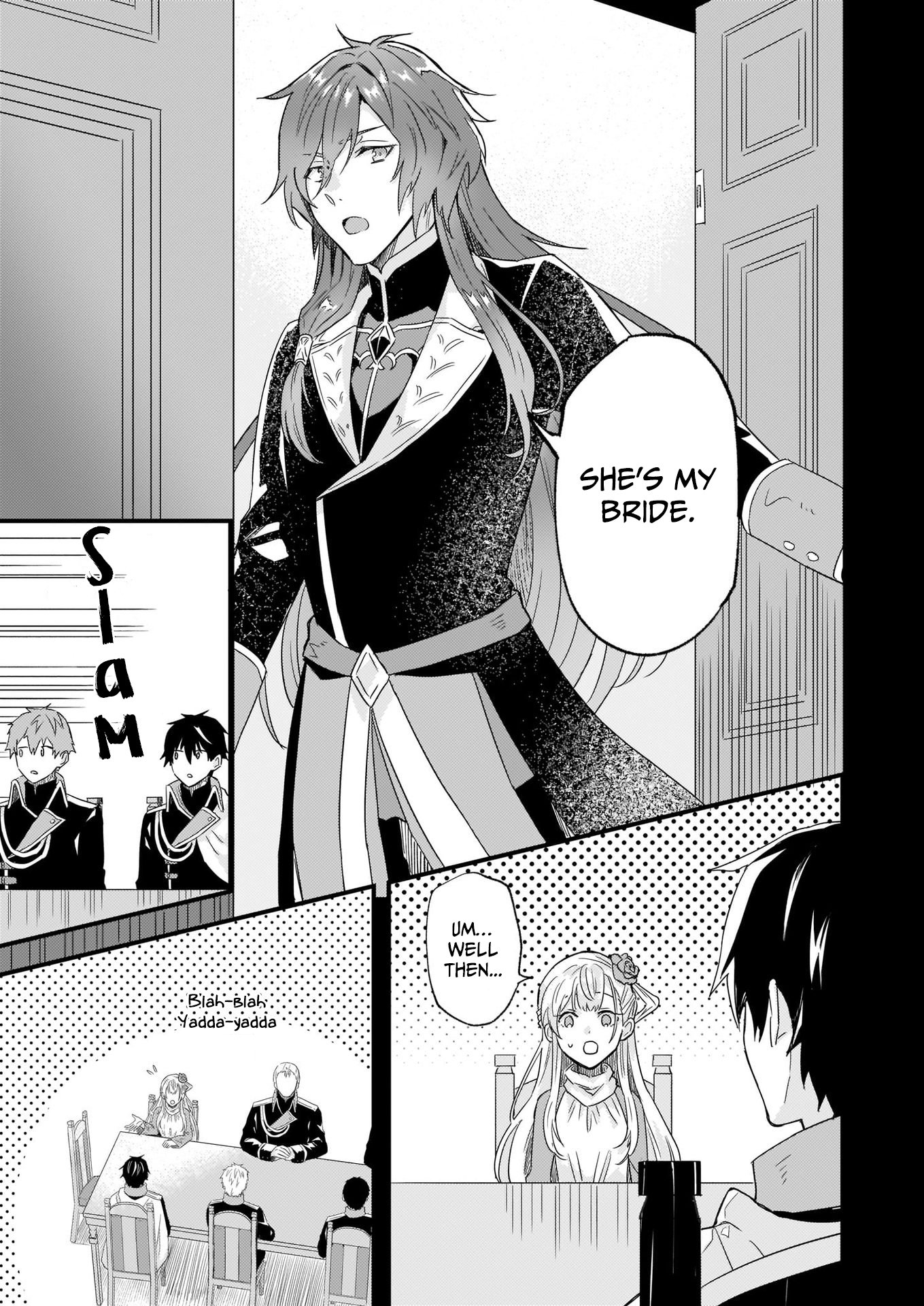 Manga I was Told to Relinquish My Fiance to My Little Sister, and the Greatest Dragon Took a Liking to Me and Unbelievably Took Over the Kingdom - Chapter 10 Page 7