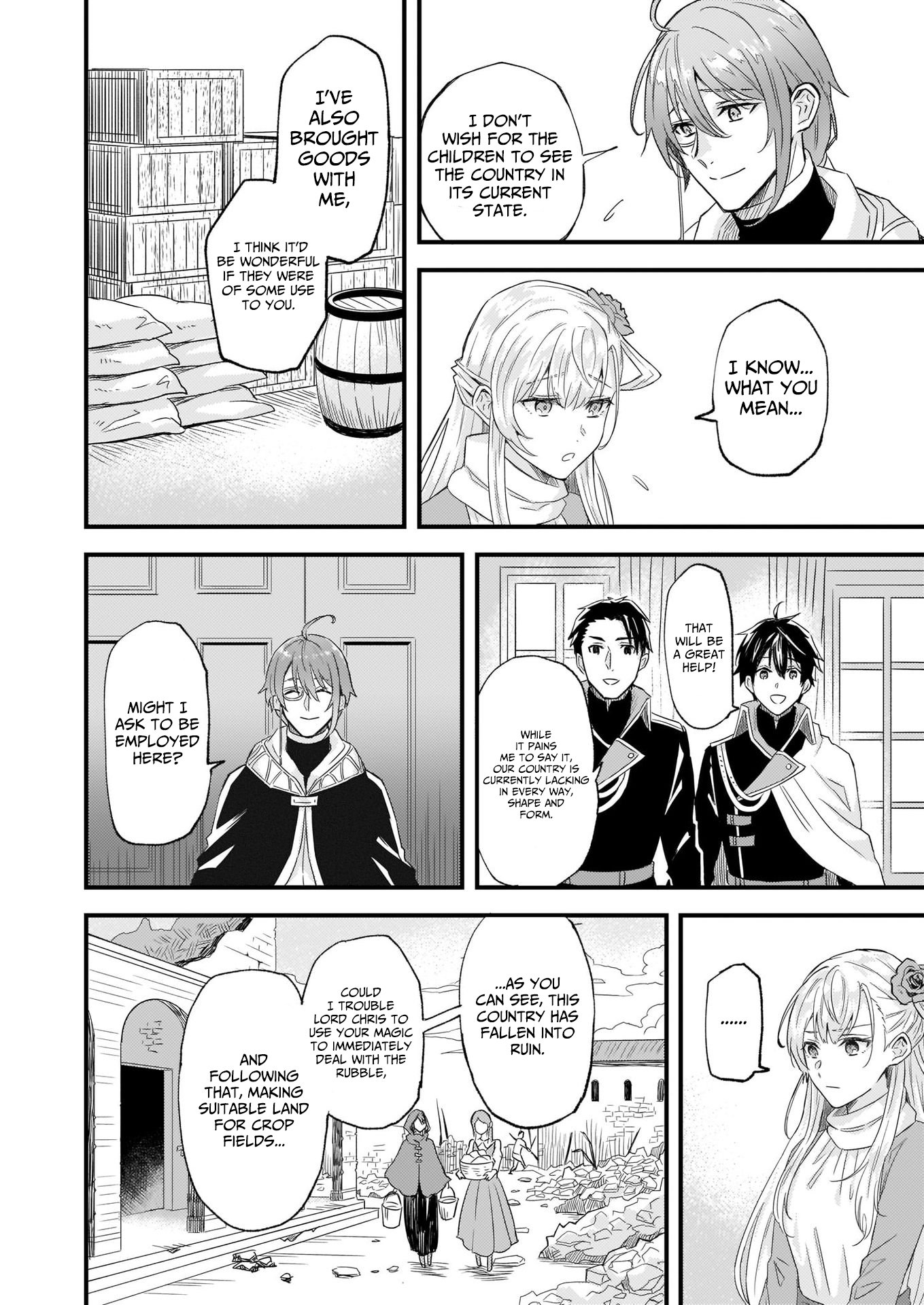 Manga I was Told to Relinquish My Fiance to My Little Sister, and the Greatest Dragon Took a Liking to Me and Unbelievably Took Over the Kingdom - Chapter 10 Page 18