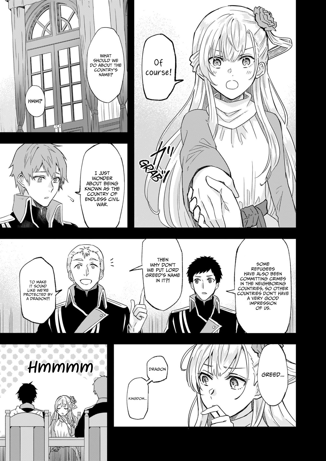 Manga I was Told to Relinquish My Fiance to My Little Sister, and the Greatest Dragon Took a Liking to Me and Unbelievably Took Over the Kingdom - Chapter 10 Page 9