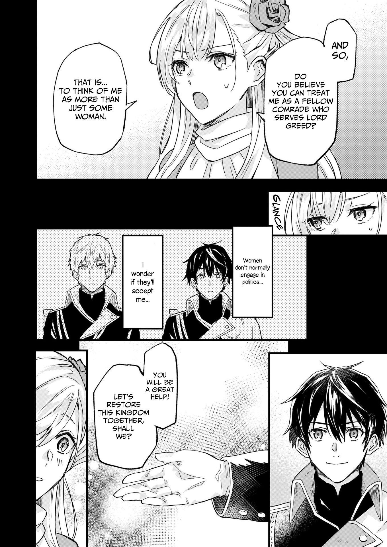 Manga I was Told to Relinquish My Fiance to My Little Sister, and the Greatest Dragon Took a Liking to Me and Unbelievably Took Over the Kingdom - Chapter 10 Page 8