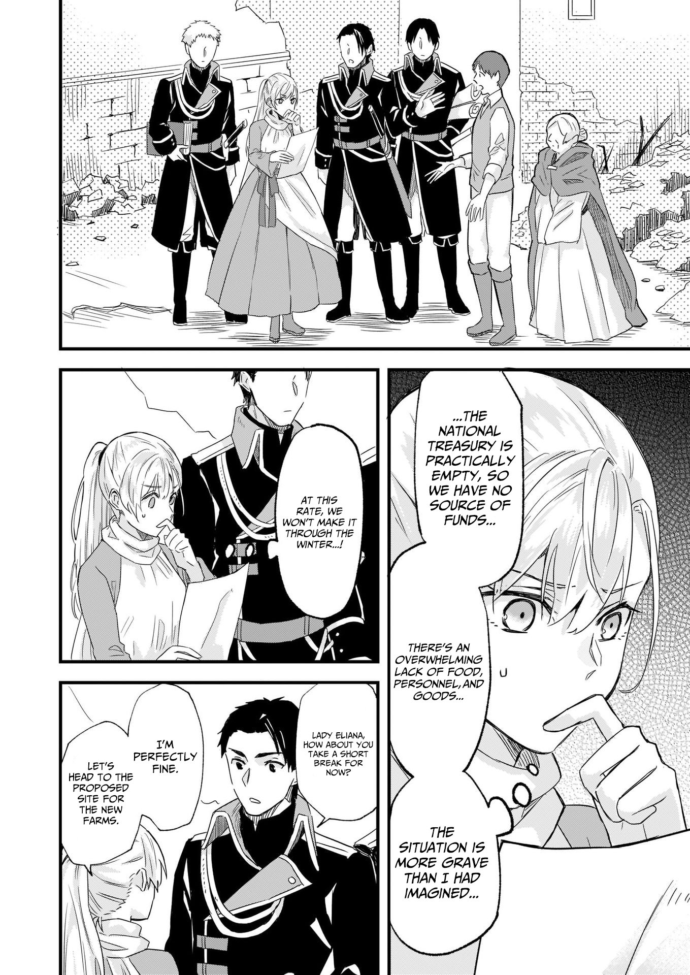 Manga I was Told to Relinquish My Fiance to My Little Sister, and the Greatest Dragon Took a Liking to Me and Unbelievably Took Over the Kingdom - Chapter 10 Page 4