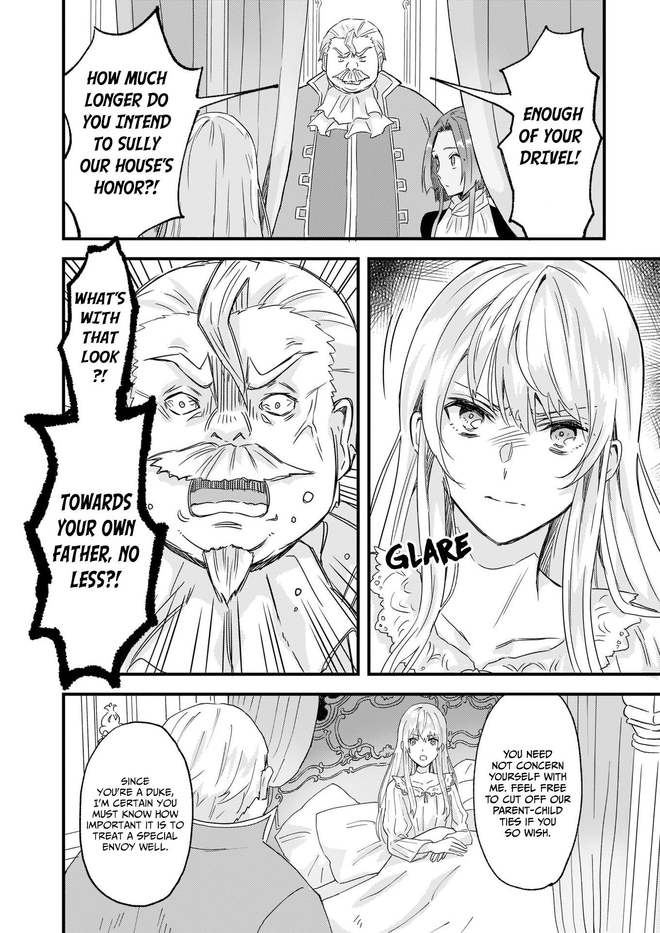 Manga I was Told to Relinquish My Fiance to My Little Sister, and the Greatest Dragon Took a Liking to Me and Unbelievably Took Over the Kingdom - Chapter 12 Page 15