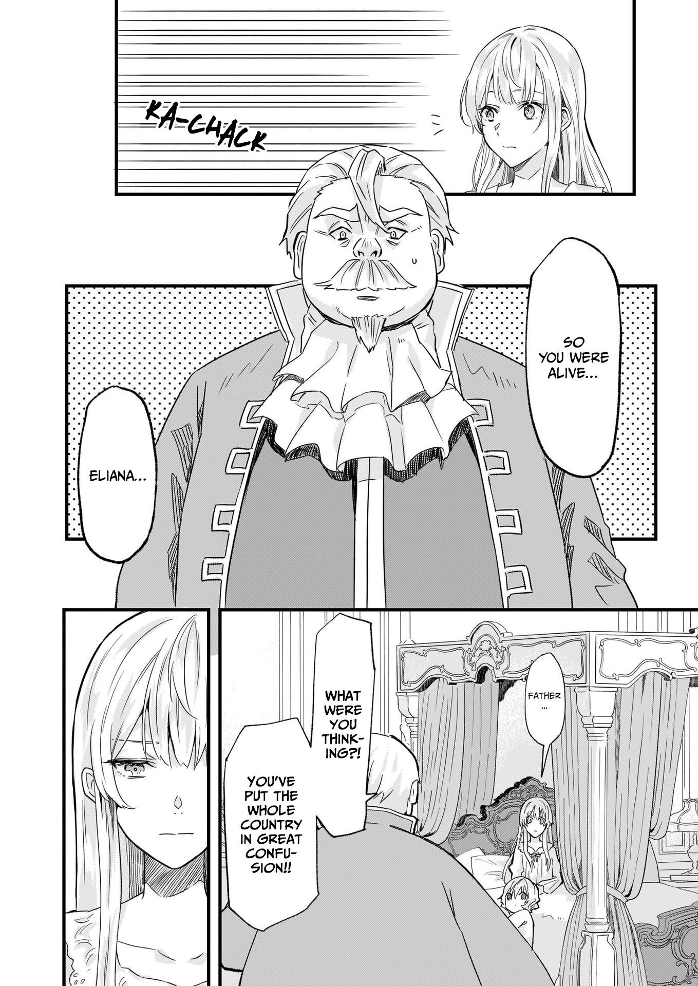 Manga I was Told to Relinquish My Fiance to My Little Sister, and the Greatest Dragon Took a Liking to Me and Unbelievably Took Over the Kingdom - Chapter 12 Page 13