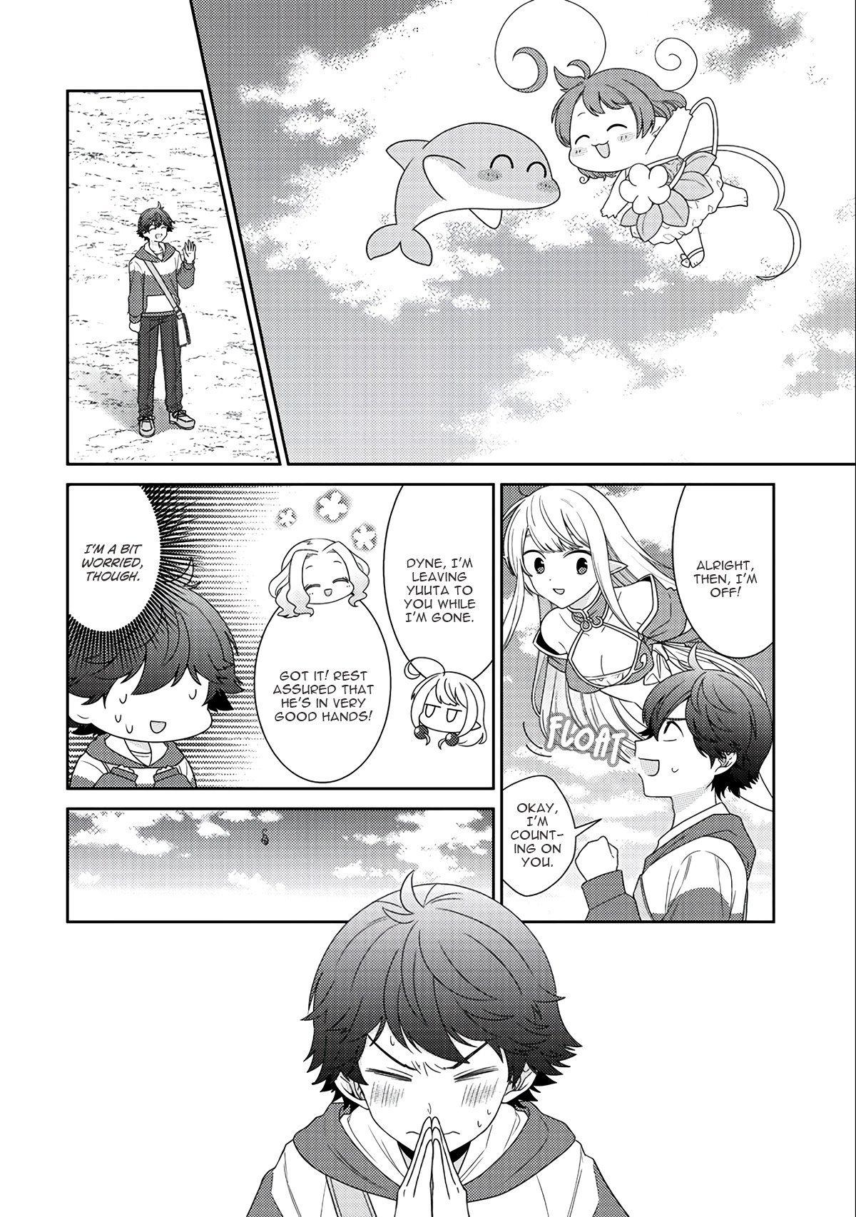 Manga Seirei-tachi no Rakuen to Risou no Isekai Seikatsu - Chapter 12 Page 9