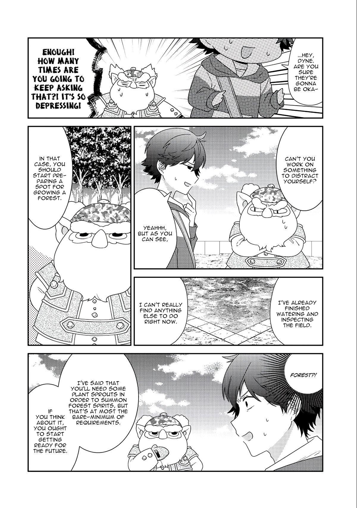 Manga Seirei-tachi no Rakuen to Risou no Isekai Seikatsu - Chapter 12 Page 11