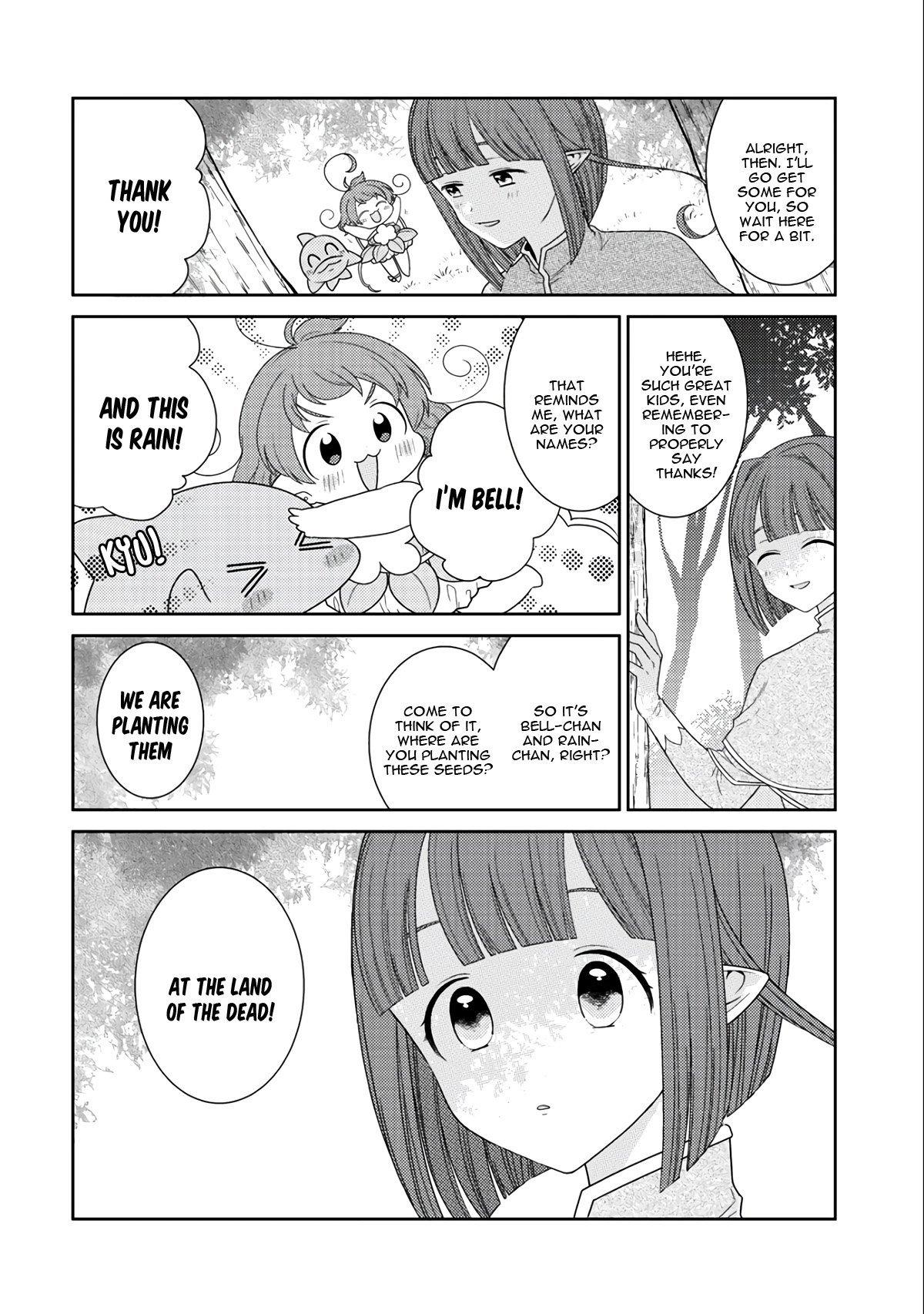Manga Seirei-tachi no Rakuen to Risou no Isekai Seikatsu - Chapter 13 Page 15