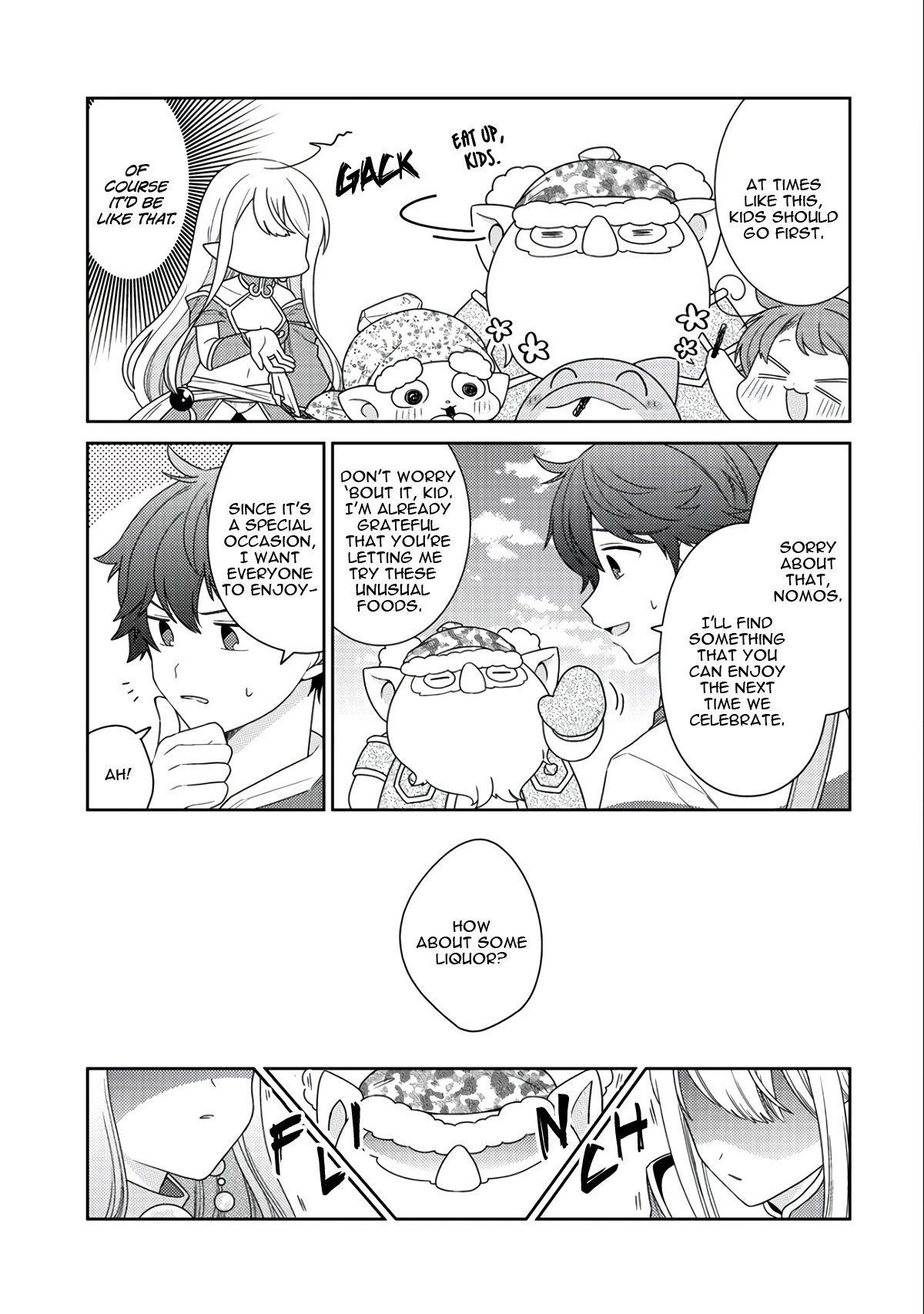 Manga Seirei-tachi no Rakuen to Risou no Isekai Seikatsu - Chapter 14 Page 24