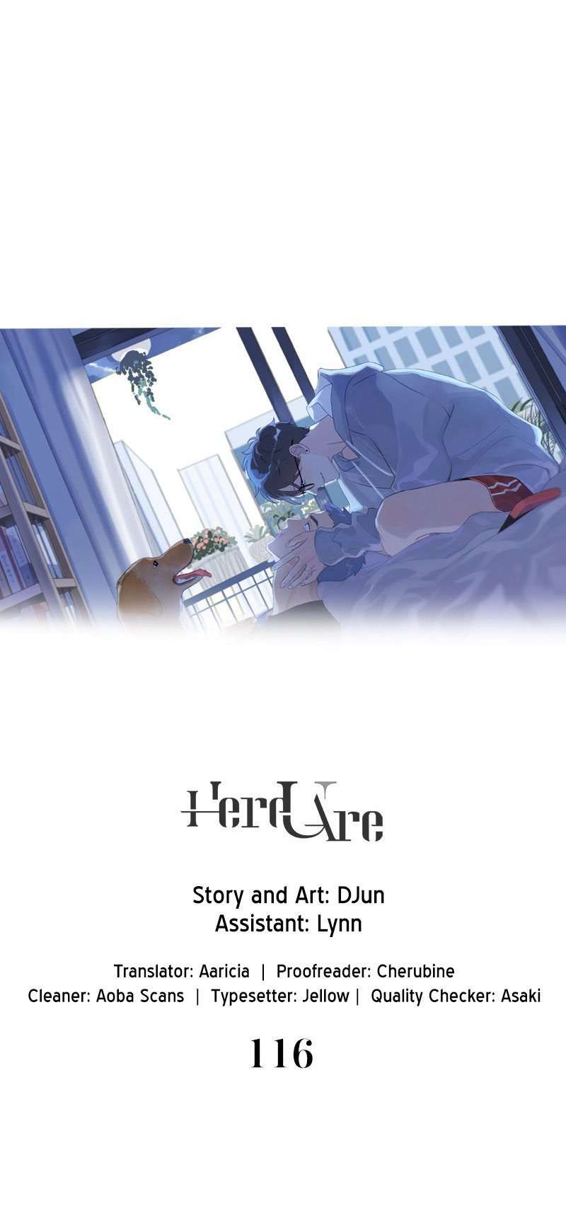 Manga Here U Are - Chapter 116 Page 1