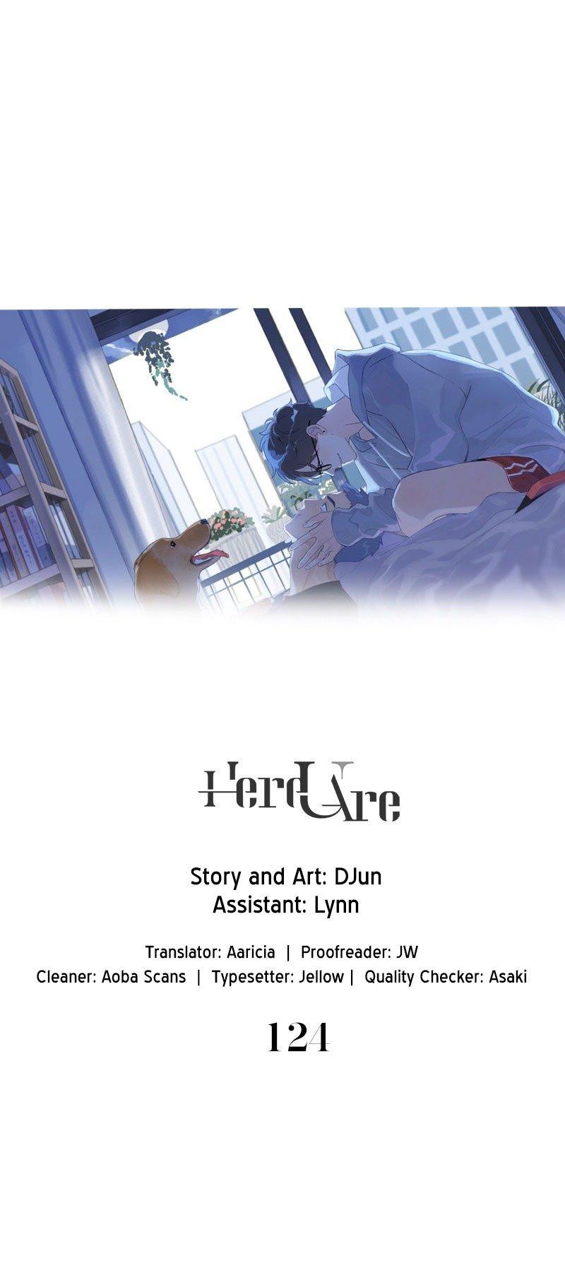 Manga Here U Are - Chapter 124 Page 1