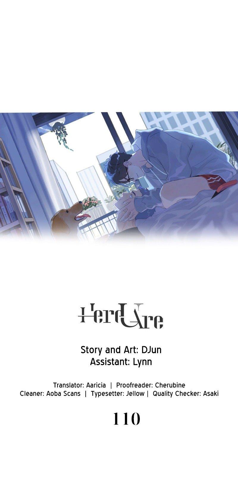 Manga Here U Are - Chapter 110 Page 1