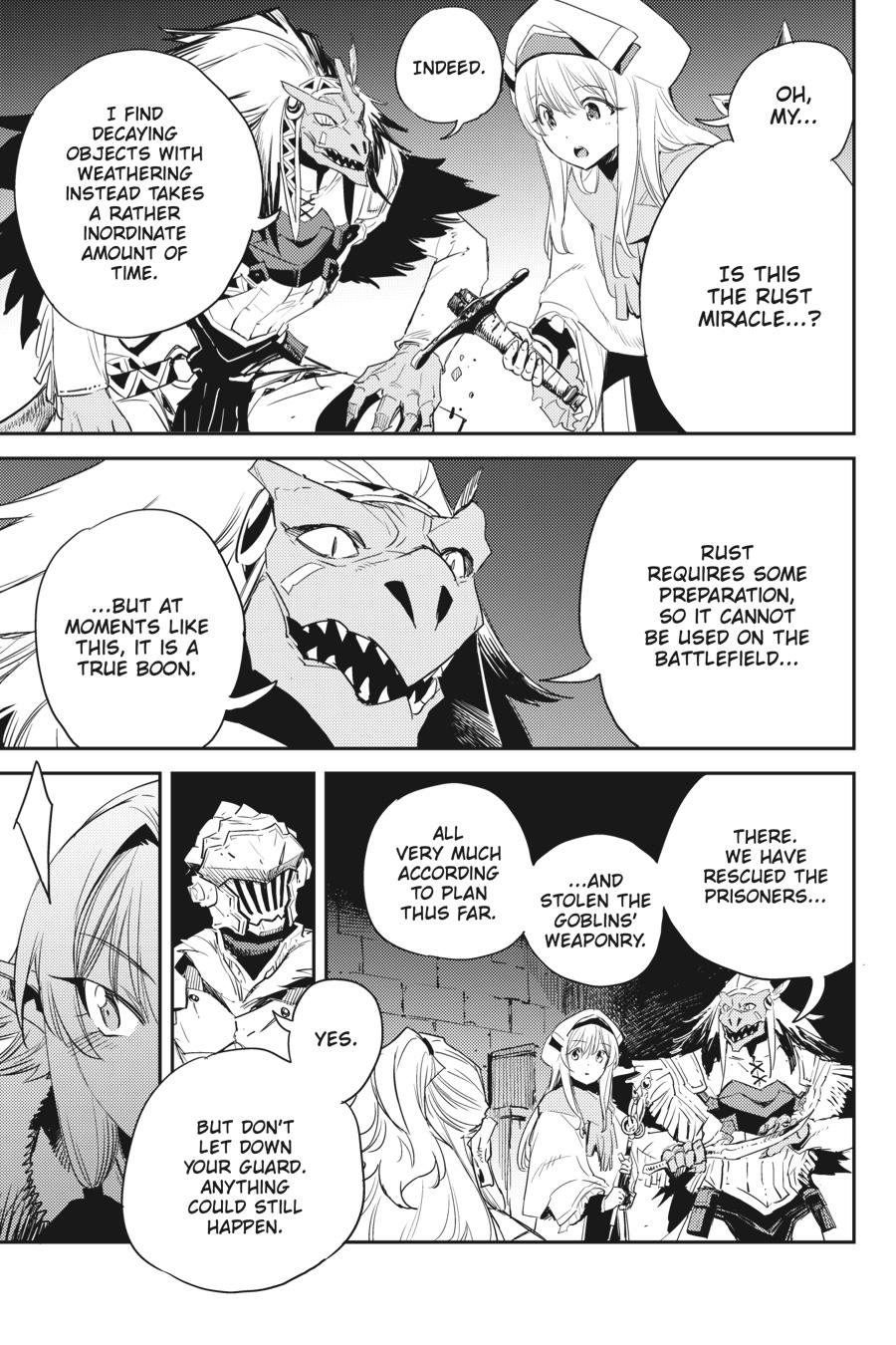 Manga Goblin Slayer - Chapter 49 Page 14