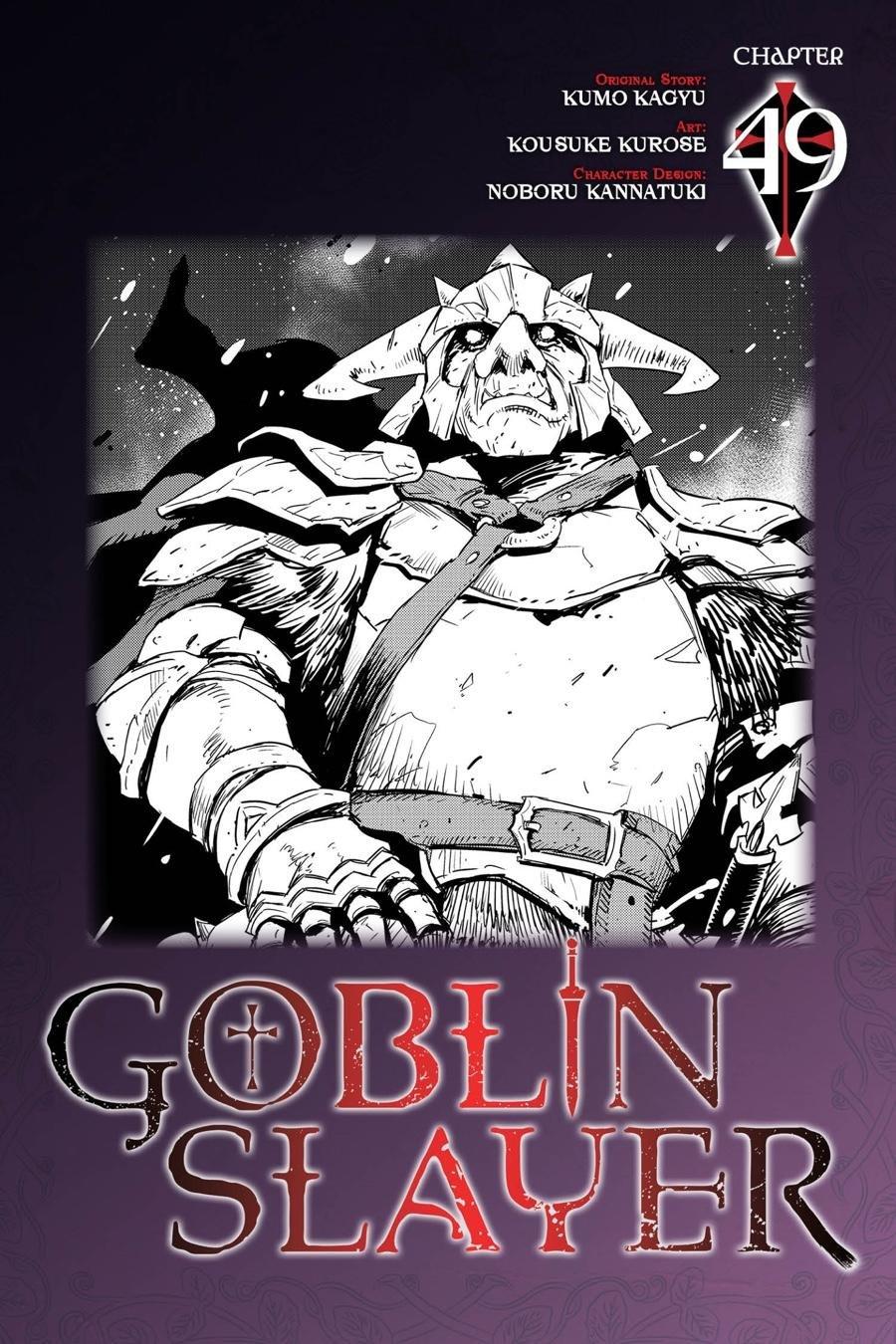 Manga Goblin Slayer - Chapter 49 Page 1