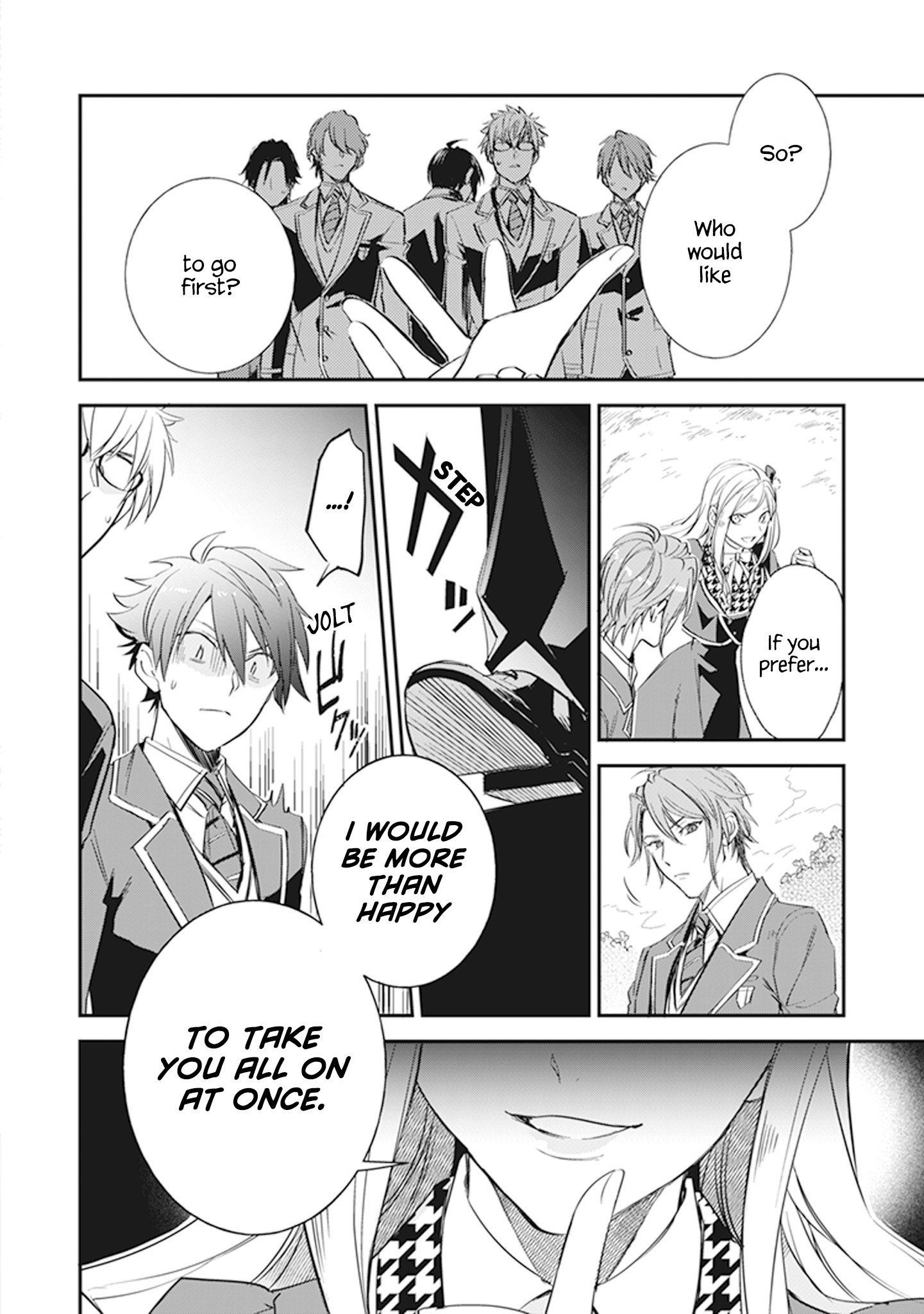 Manga The Daughter of the Albert House Wishes for Ruin - Chapter 9 Page 26