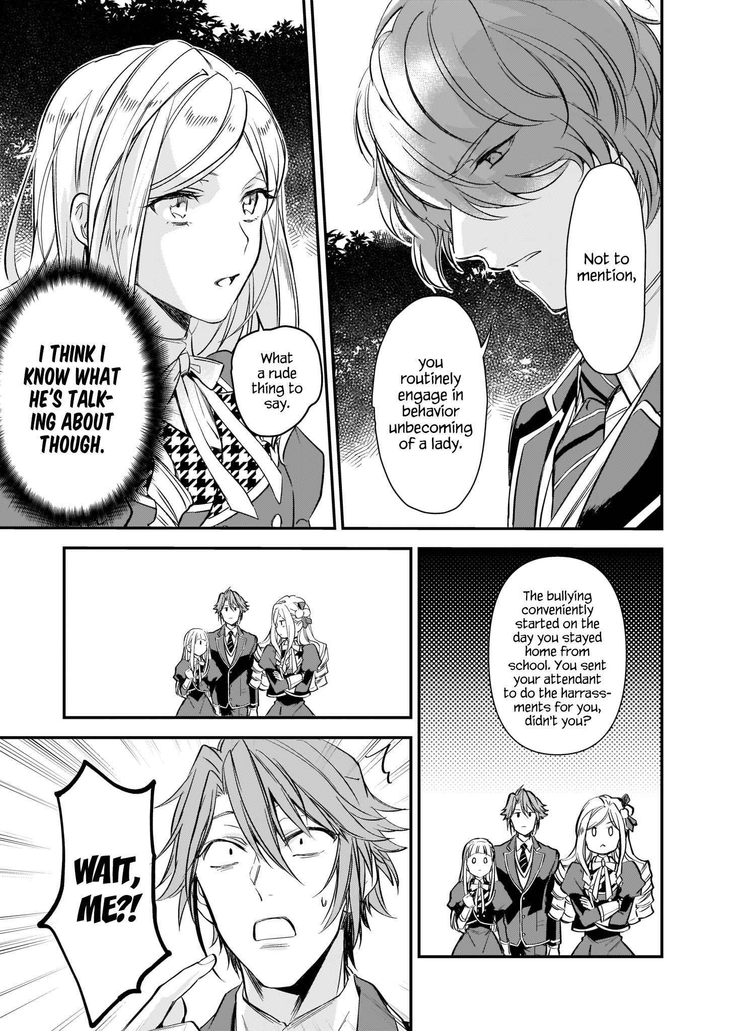 Manga The Daughter of the Albert House Wishes for Ruin - Chapter 9 Page 17