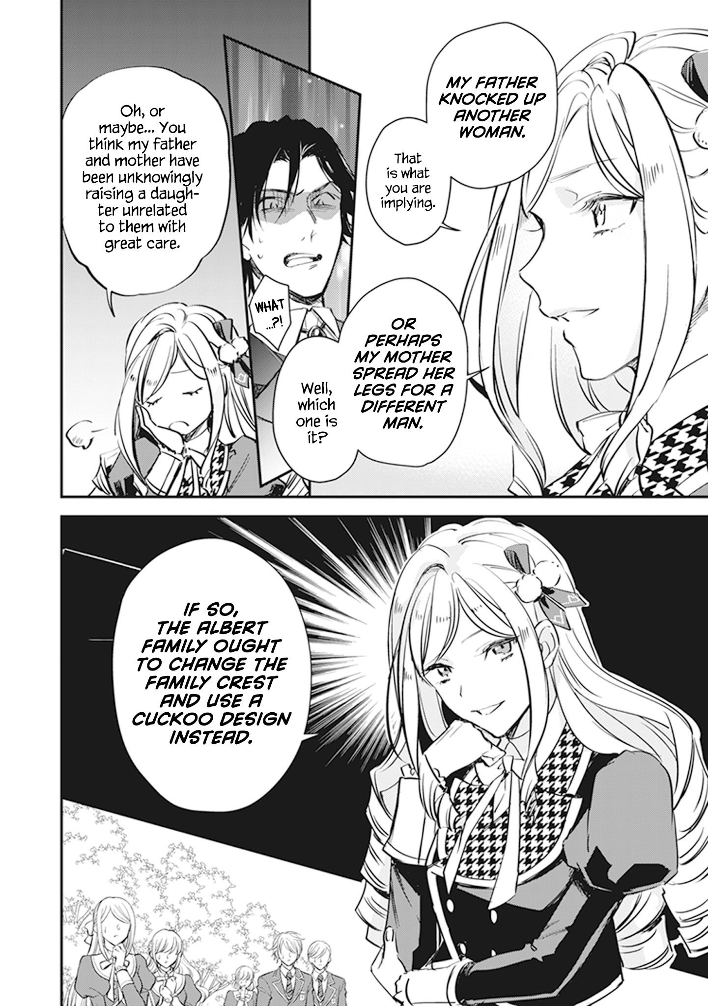 Manga The Daughter of the Albert House Wishes for Ruin - Chapter 9 Page 30