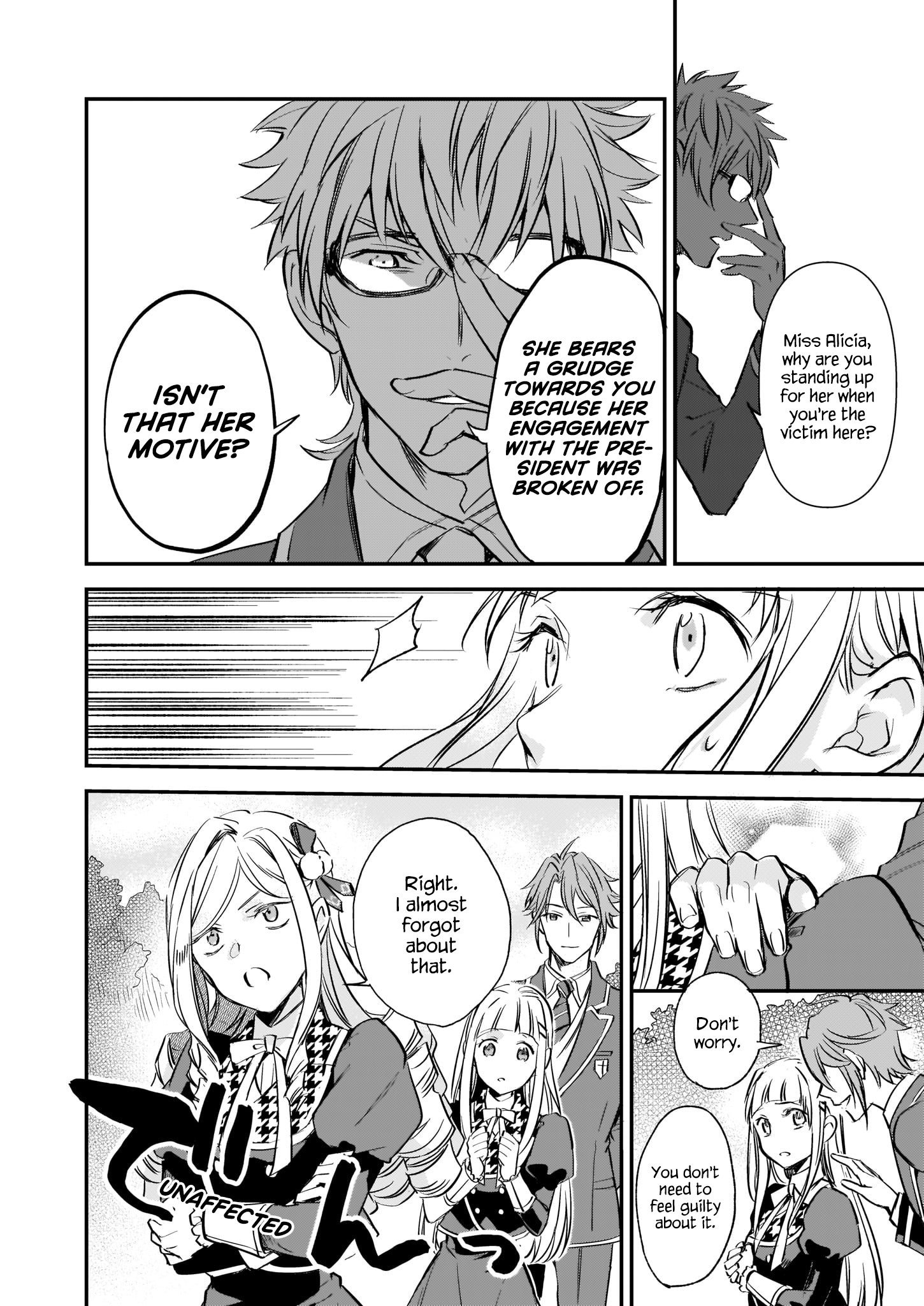 Manga The Daughter of the Albert House Wishes for Ruin - Chapter 9 Page 16