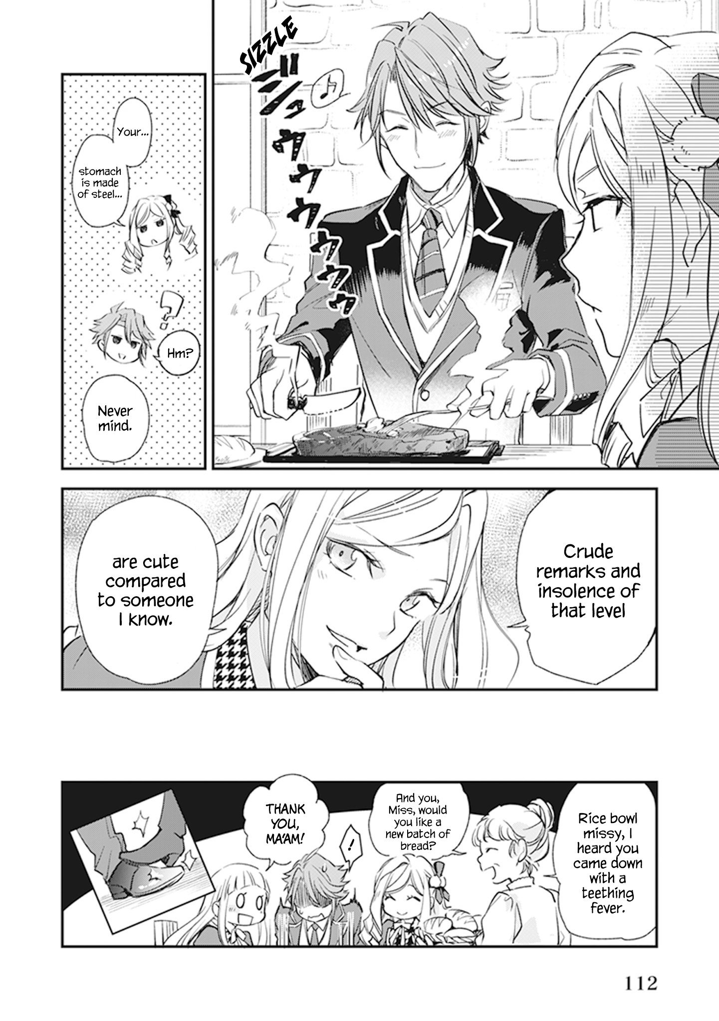 Manga The Daughter of the Albert House Wishes for Ruin - Chapter 9 Page 44