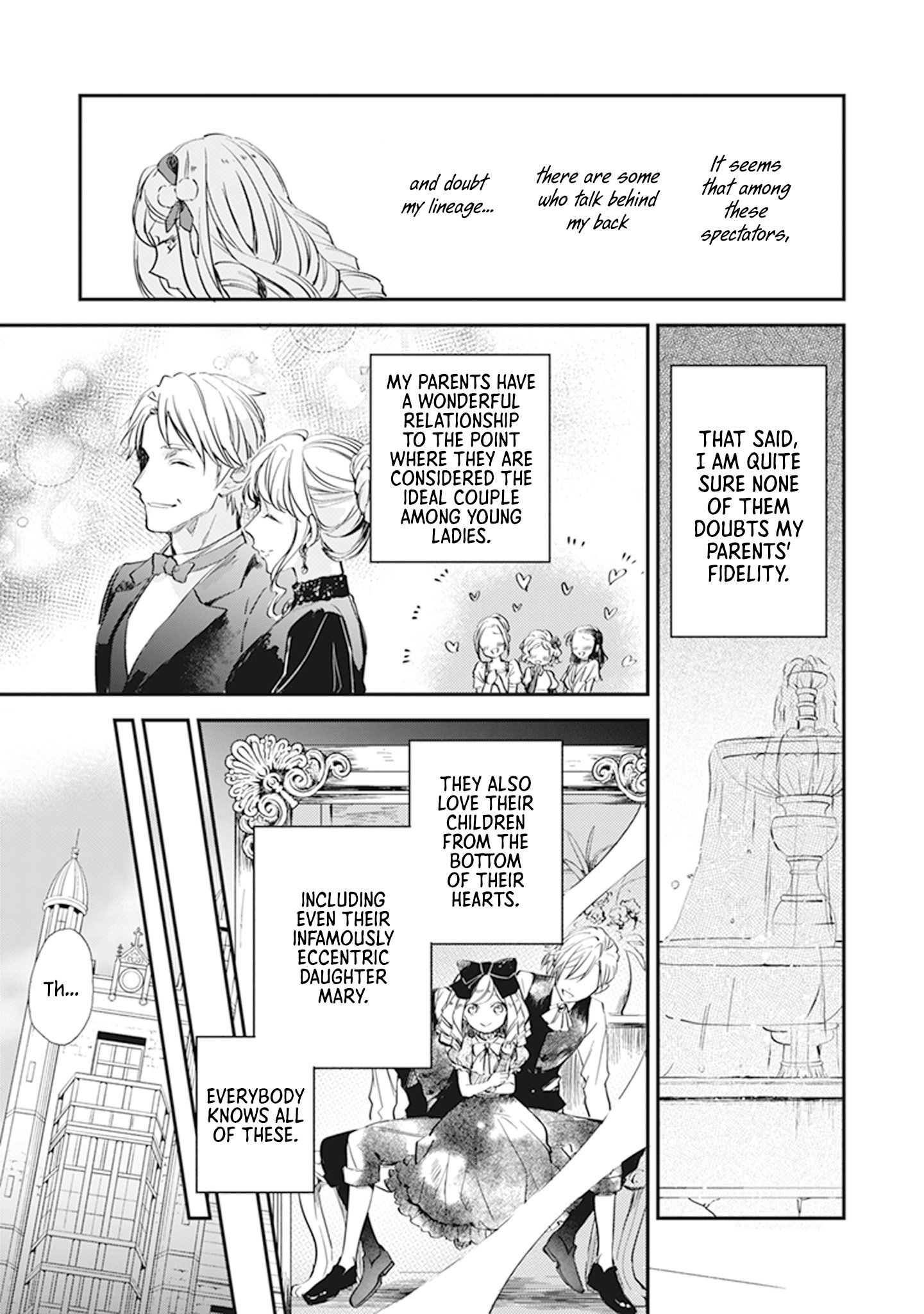 Manga The Daughter of the Albert House Wishes for Ruin - Chapter 9 Page 31