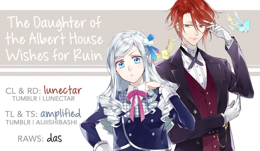 Manga The Daughter of the Albert House Wishes for Ruin - Chapter 10.1 Page 1