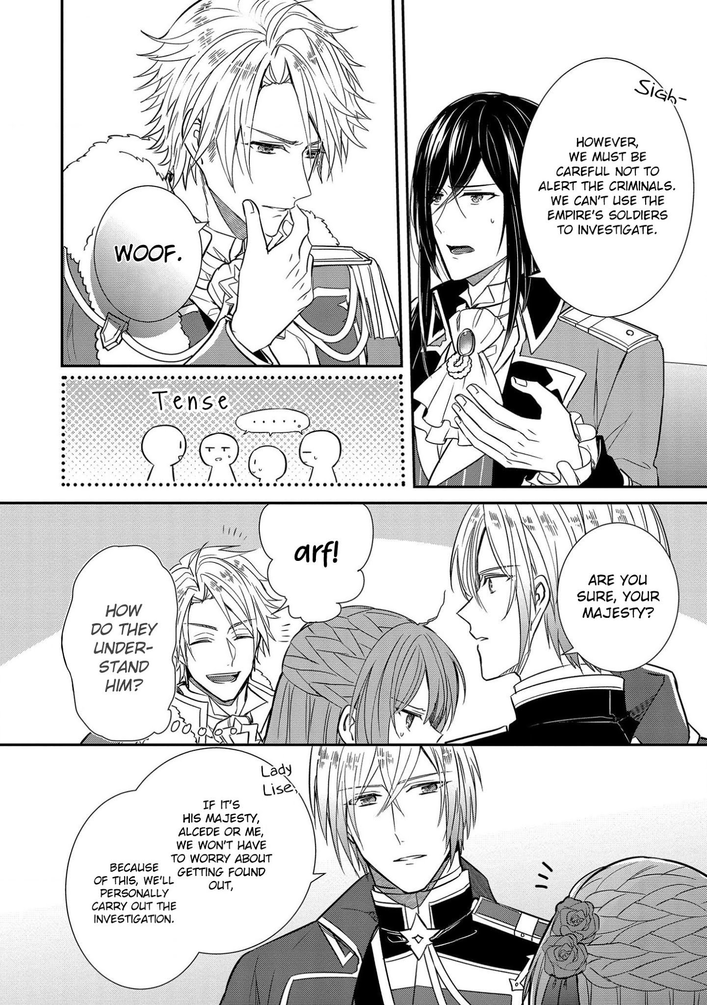 Manga The Emperor Hopes for the Court Lady as His Bride - Chapter 6 Page 9