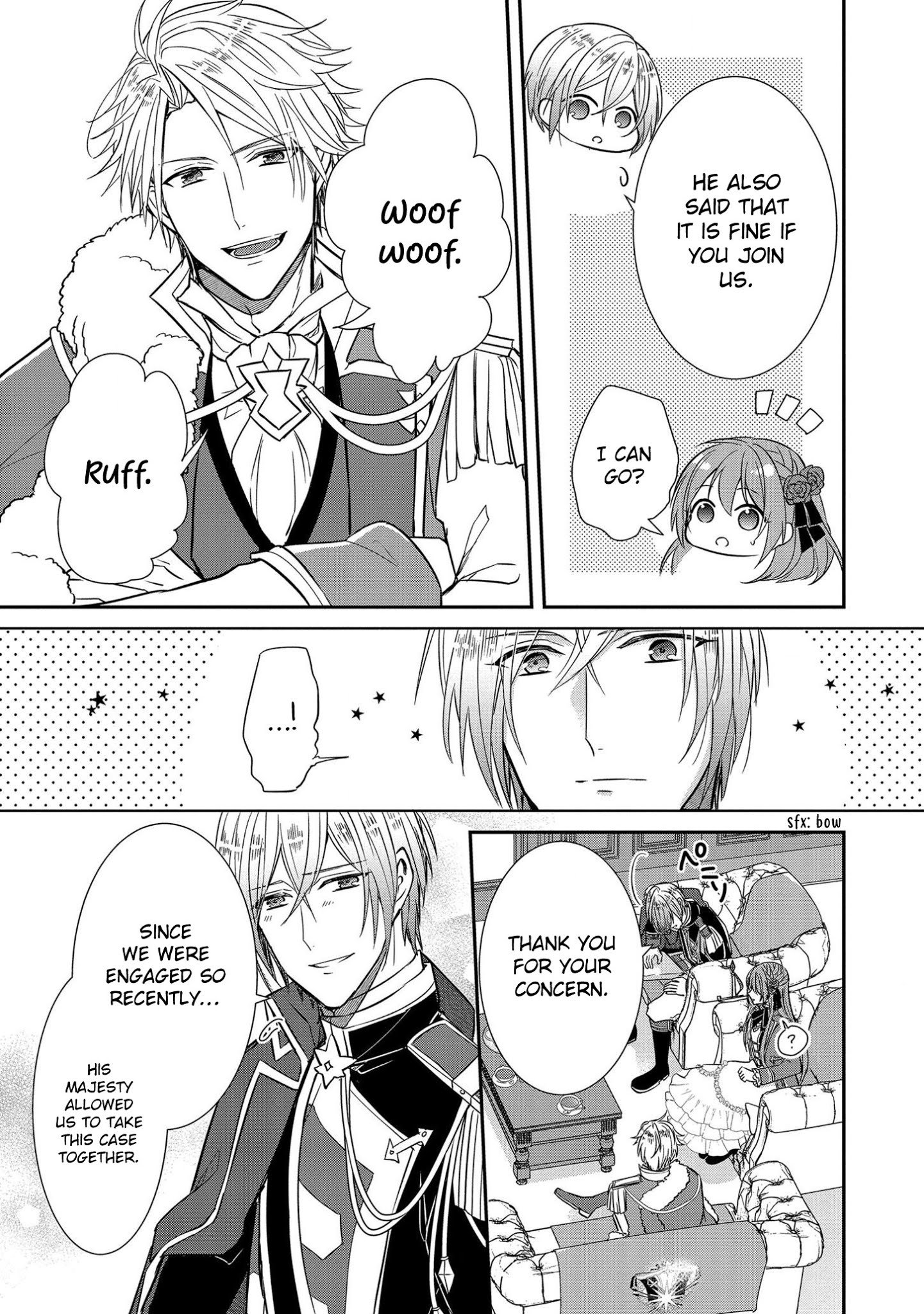 Manga The Emperor Hopes for the Court Lady as His Bride - Chapter 6 Page 10