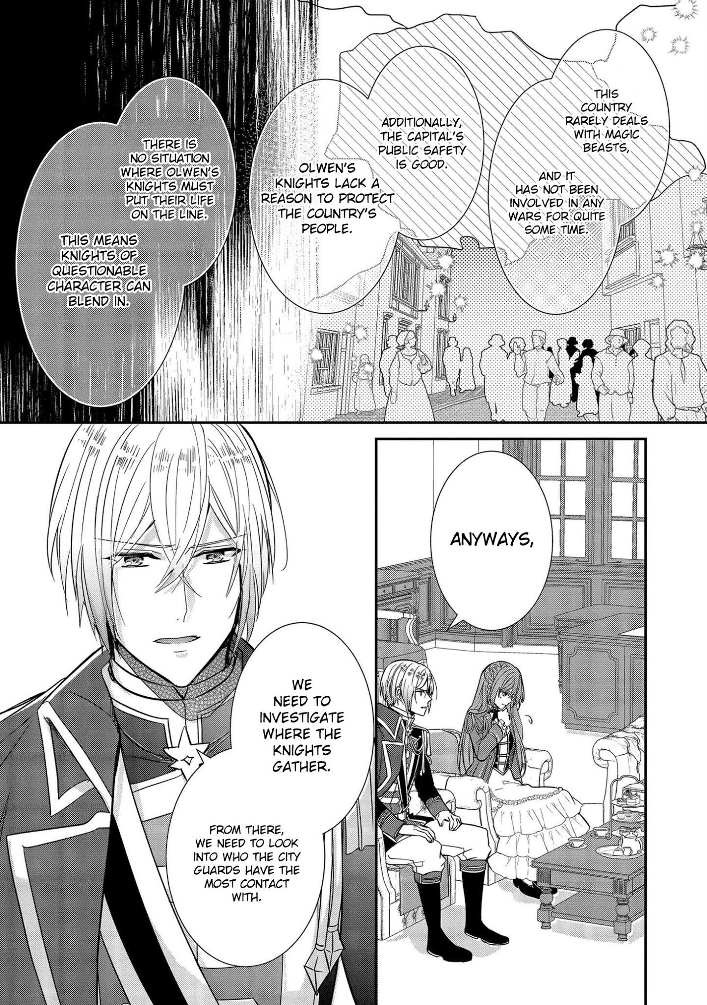 Manga The Emperor Hopes for the Court Lady as His Bride - Chapter 6 Page 8