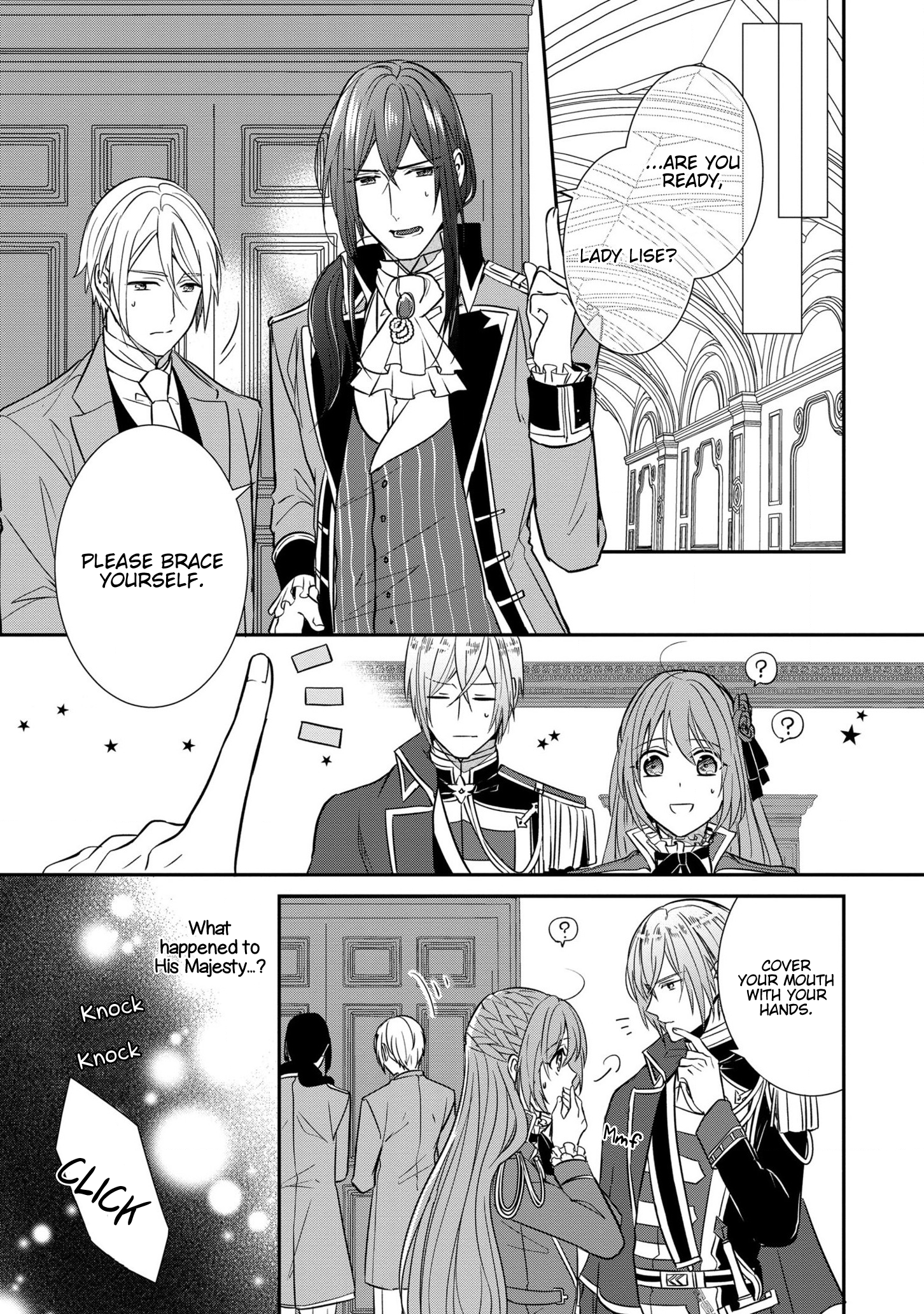 Manga The Emperor Hopes for the Court Lady as His Bride - Chapter 10 Page 5