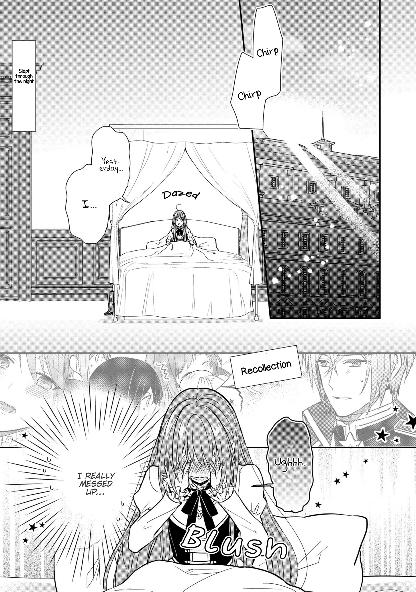 Manga The Emperor Hopes for the Court Lady as His Bride - Chapter 10 Page 2