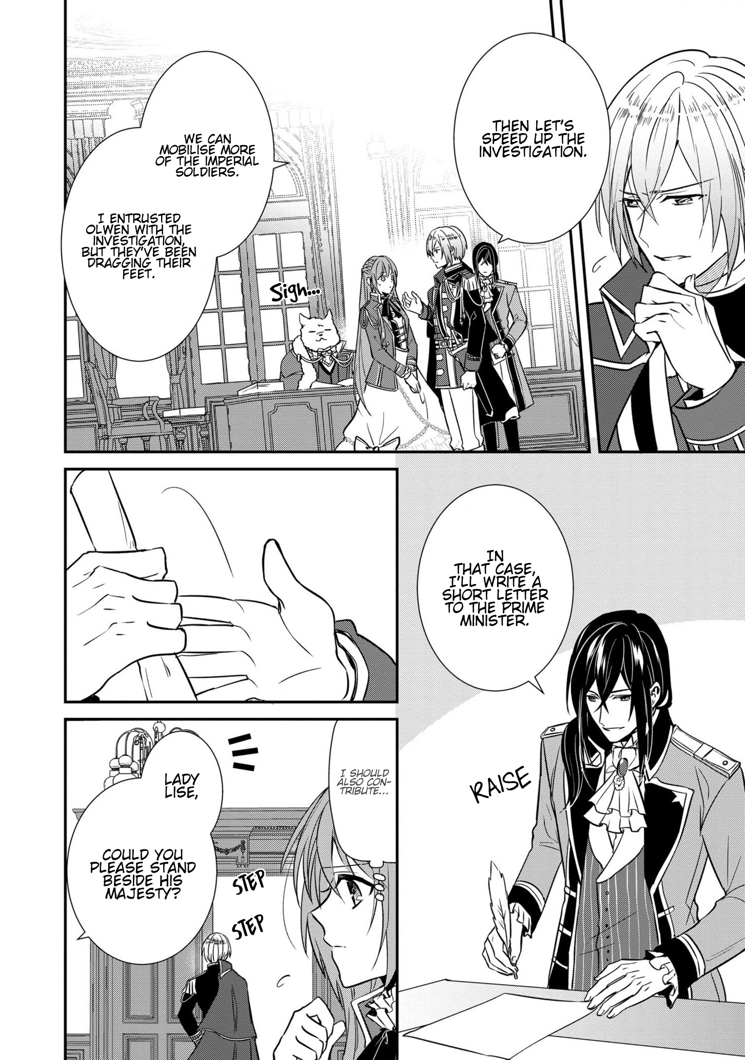 Manga The Emperor Hopes for the Court Lady as His Bride - Chapter 10 Page 8