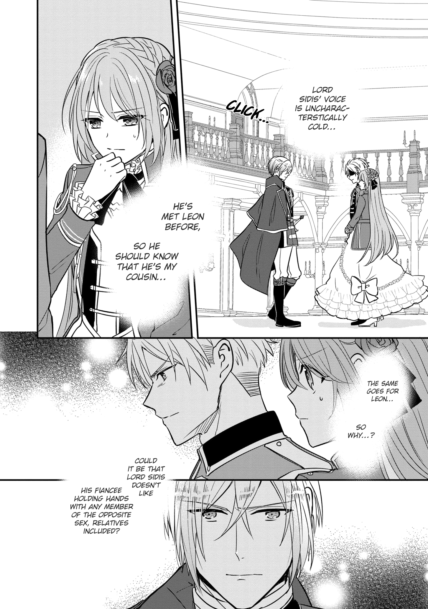 Manga The Emperor Hopes for the Court Lady as His Bride - Chapter 11 Page 21