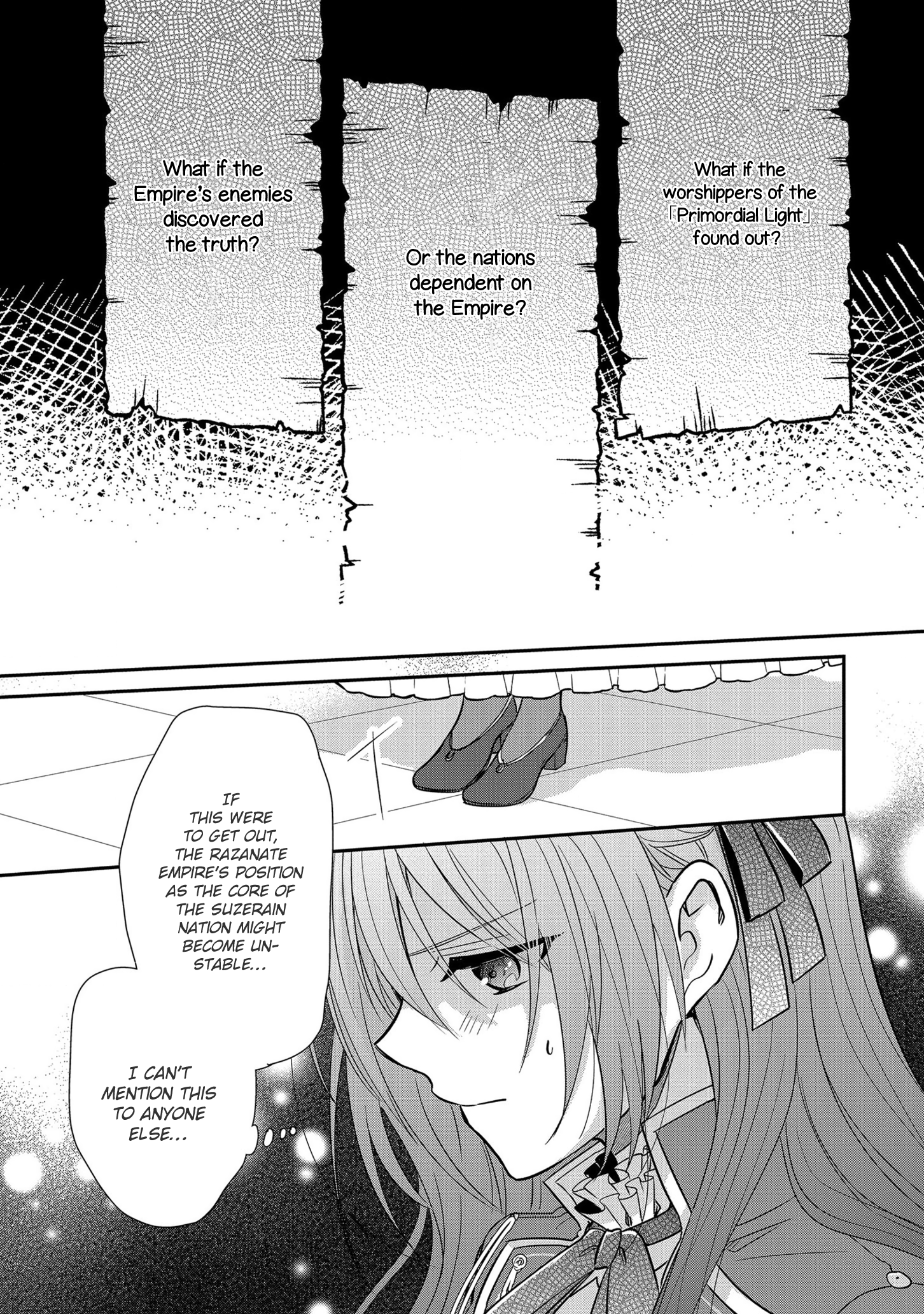 Manga The Emperor Hopes for the Court Lady as His Bride - Chapter 11 Page 6