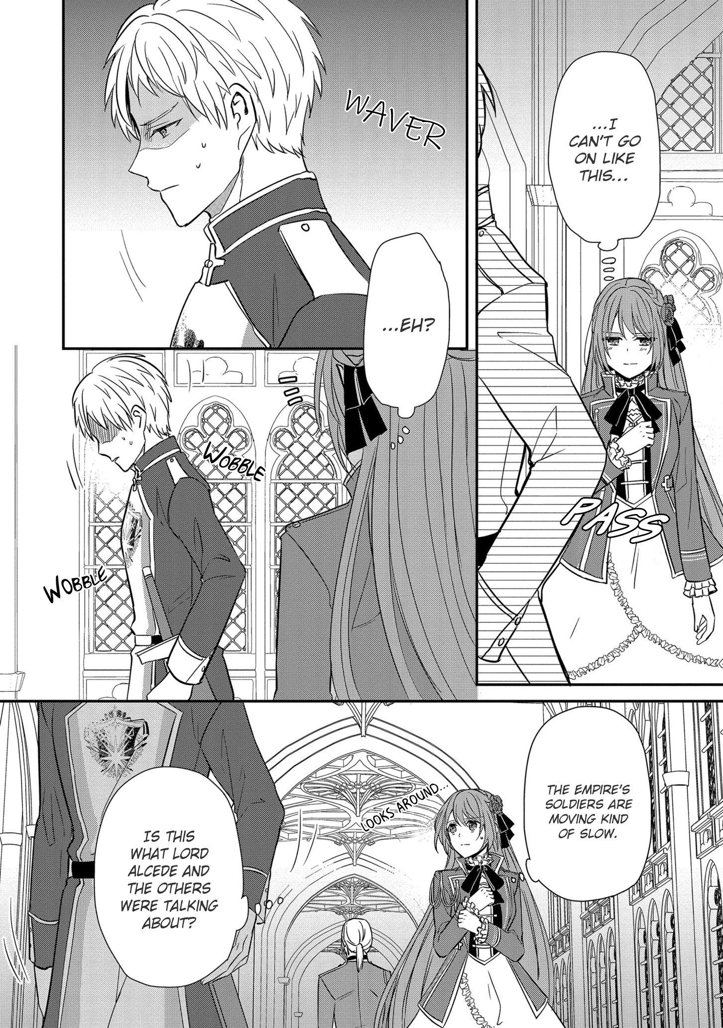 Manga The Emperor Hopes for the Court Lady as His Bride - Chapter 11 Page 9