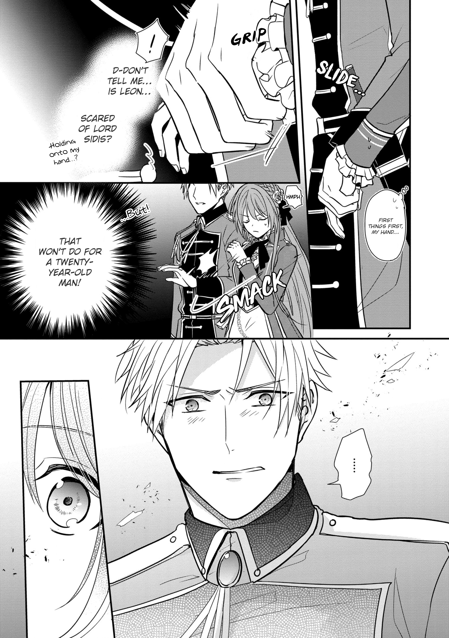 Manga The Emperor Hopes for the Court Lady as His Bride - Chapter 11 Page 22