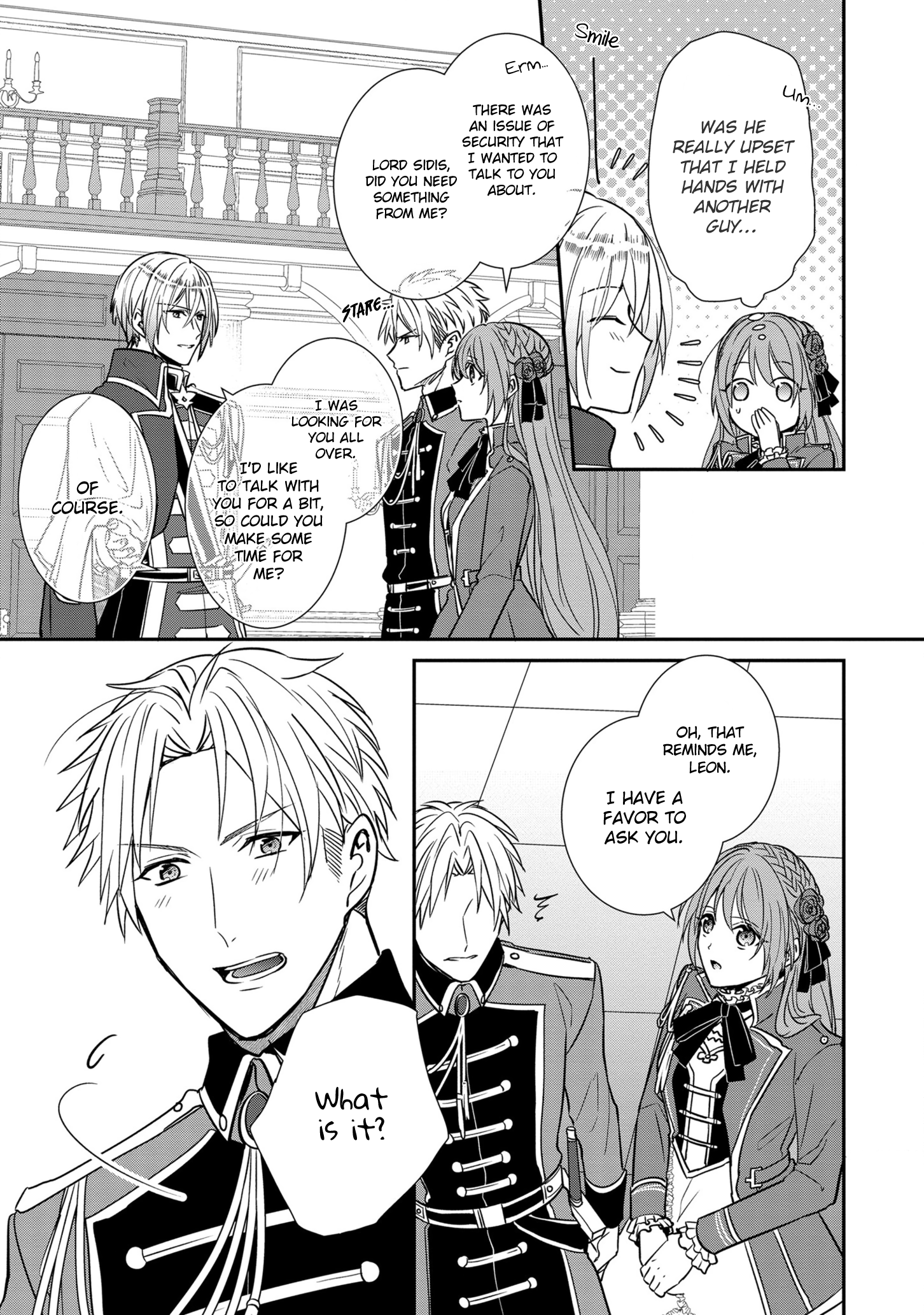 Manga The Emperor Hopes for the Court Lady as His Bride - Chapter 11 Page 24