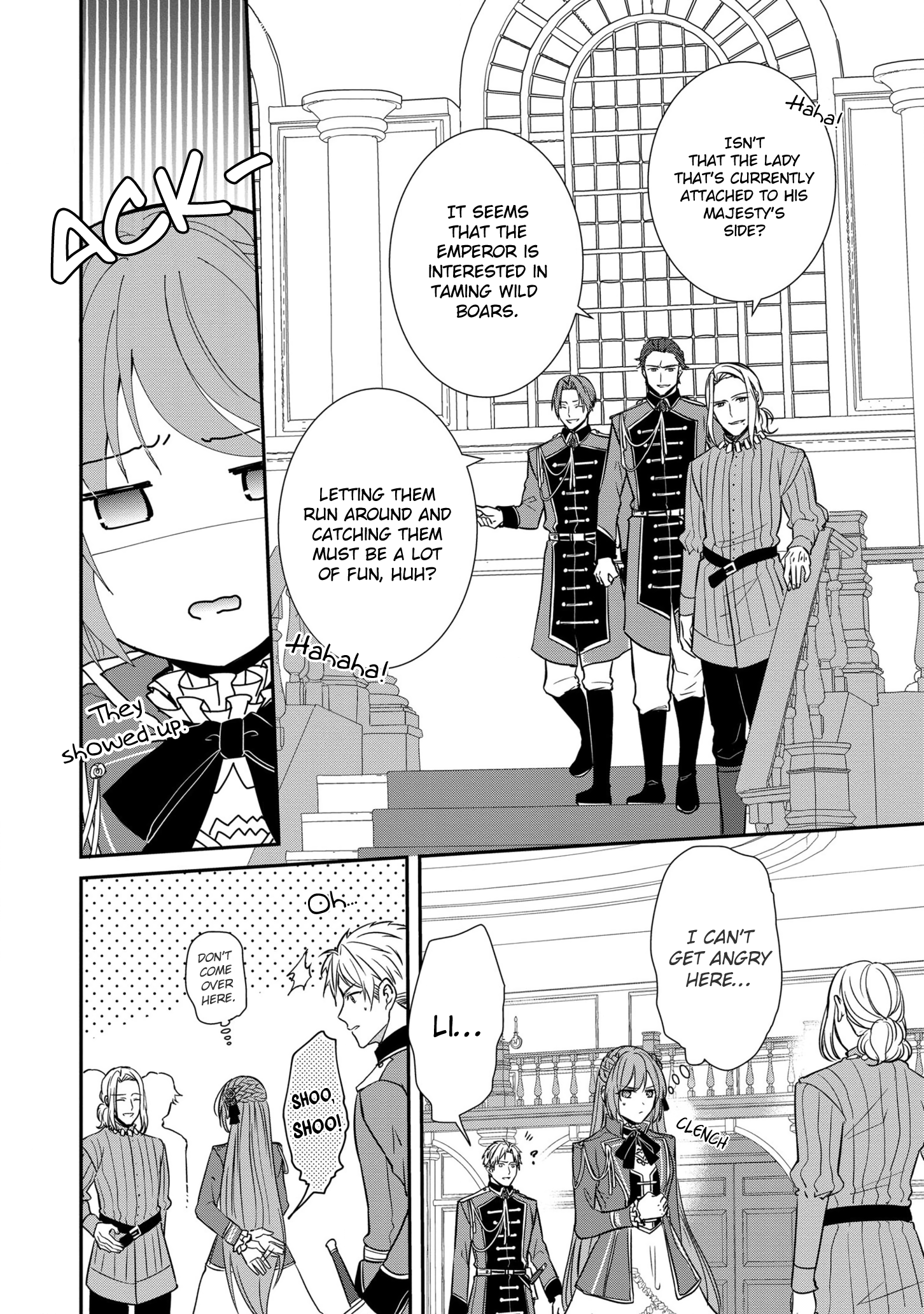 Manga The Emperor Hopes for the Court Lady as His Bride - Chapter 11 Page 13