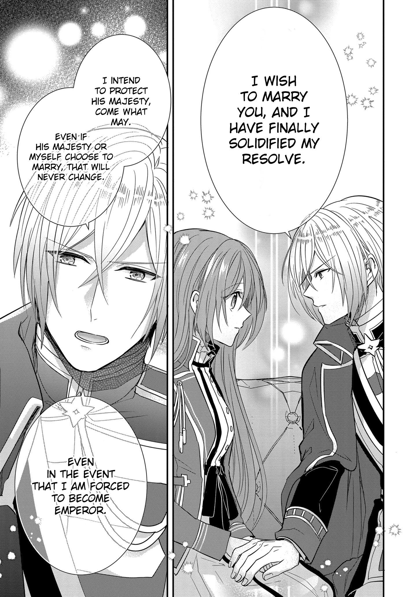 Manga The Emperor Hopes for the Court Lady as His Bride - Chapter 12 Page 26