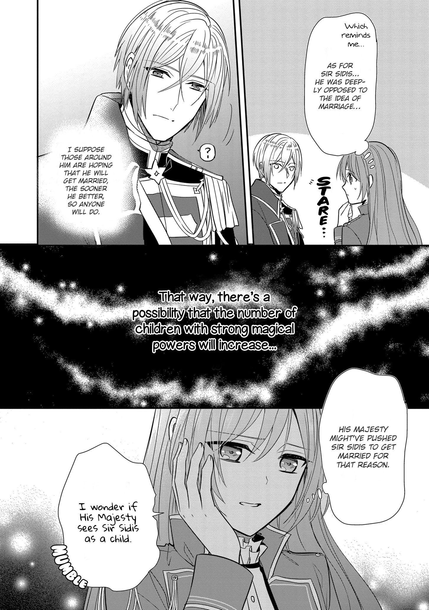 Manga The Emperor Hopes for the Court Lady as His Bride - Chapter 12 Page 21
