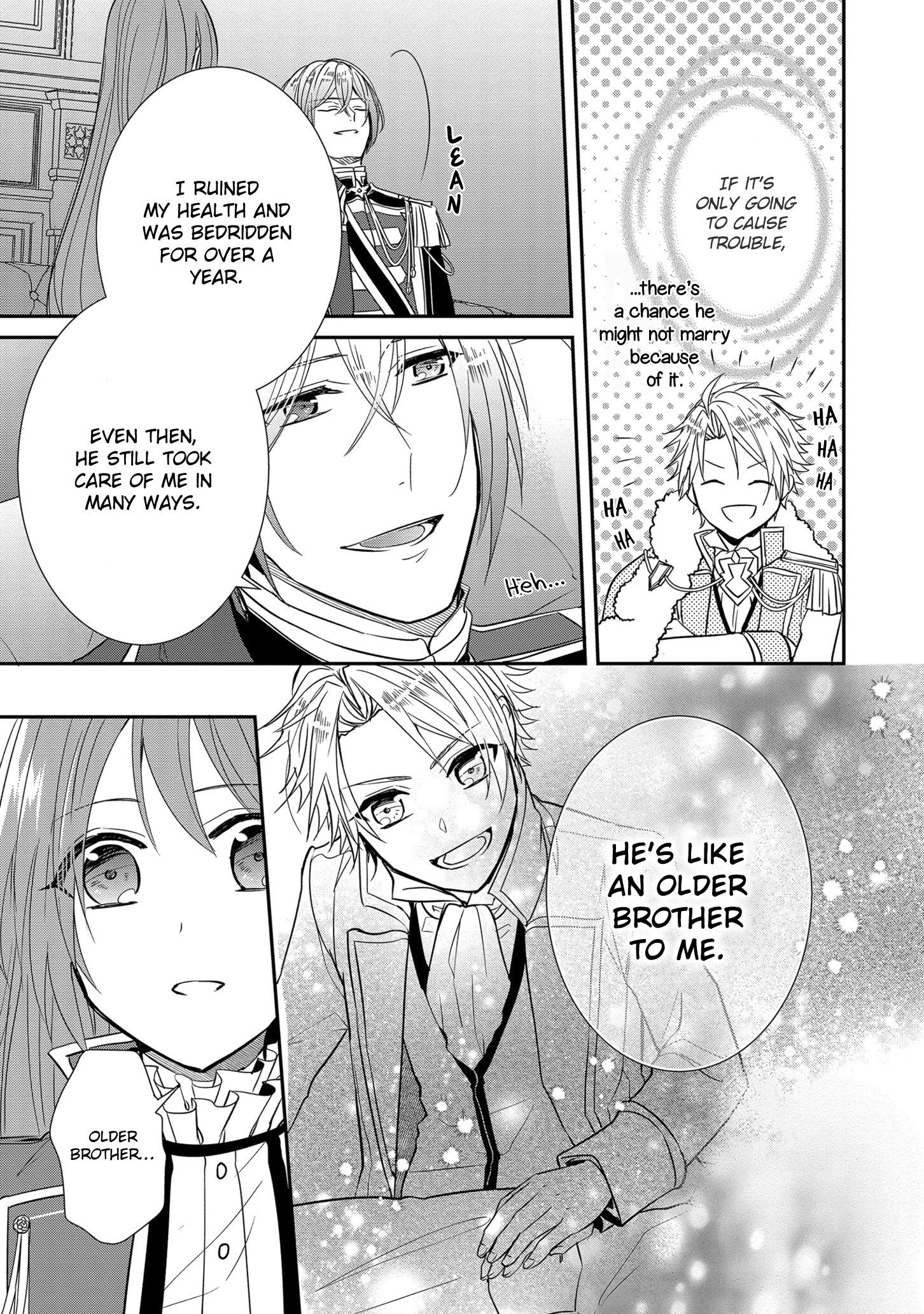 Manga The Emperor Hopes for the Court Lady as His Bride - Chapter 12 Page 22