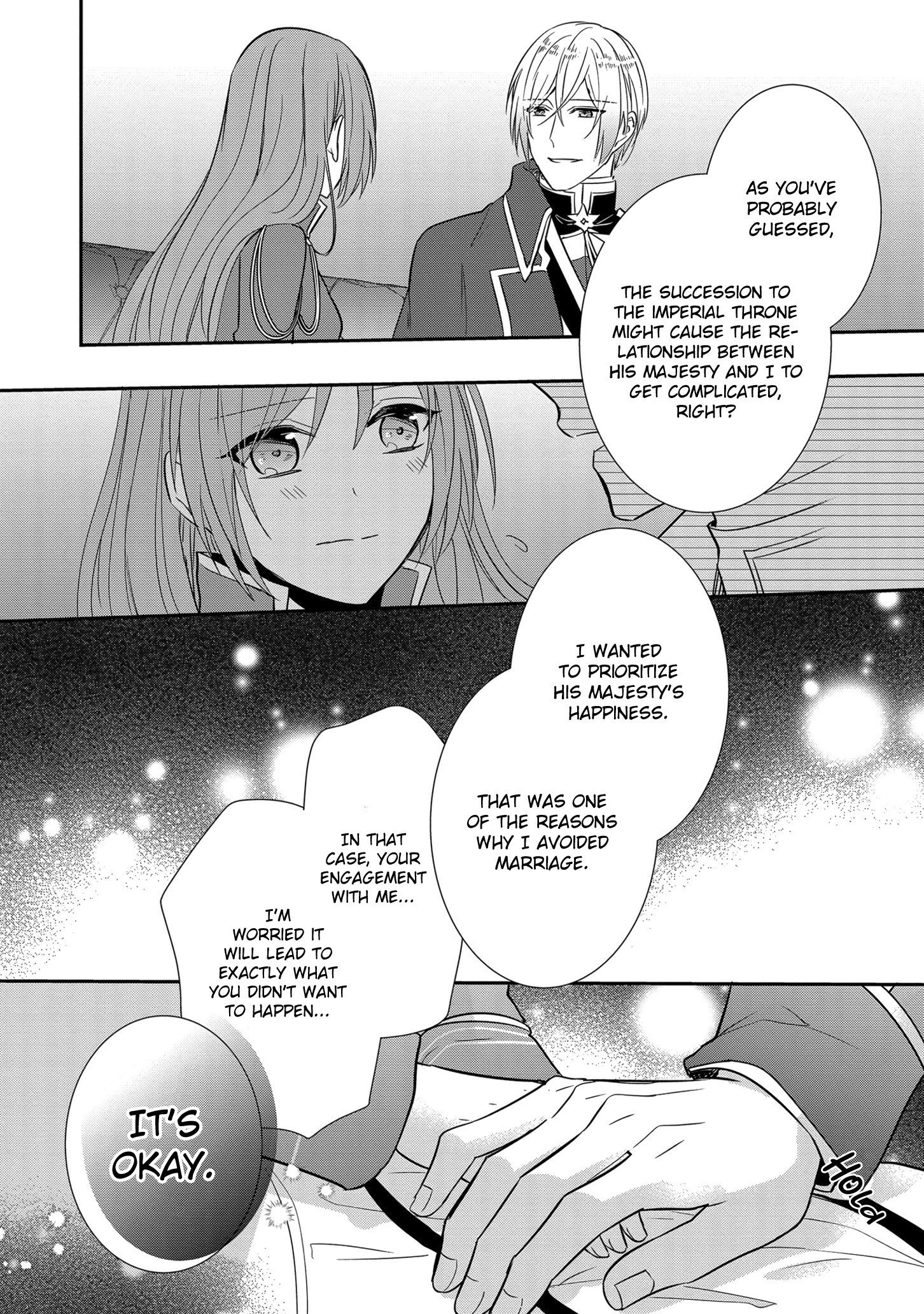 Manga The Emperor Hopes for the Court Lady as His Bride - Chapter 12 Page 25
